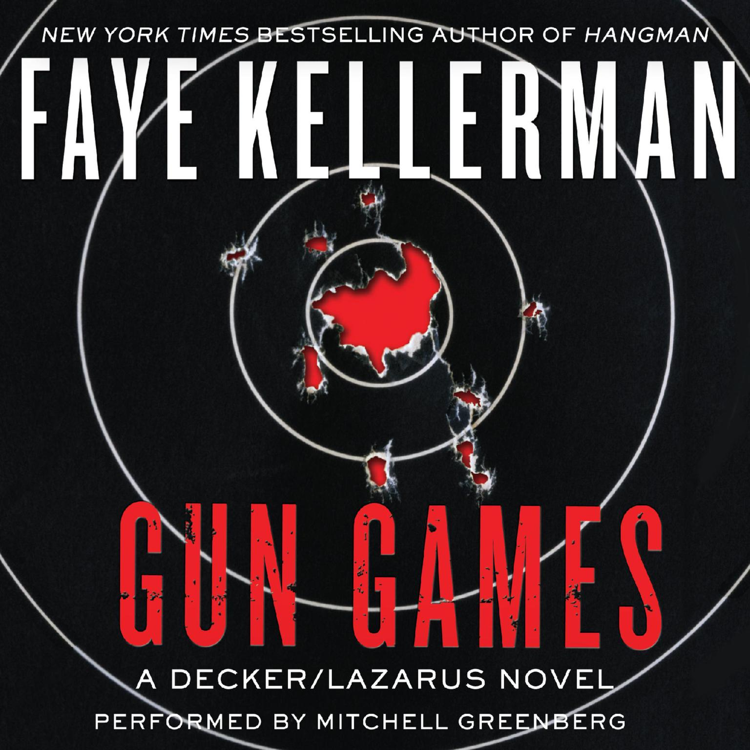 Printable Gun Games: A Decker/Lazarus Novel Audiobook Cover Art