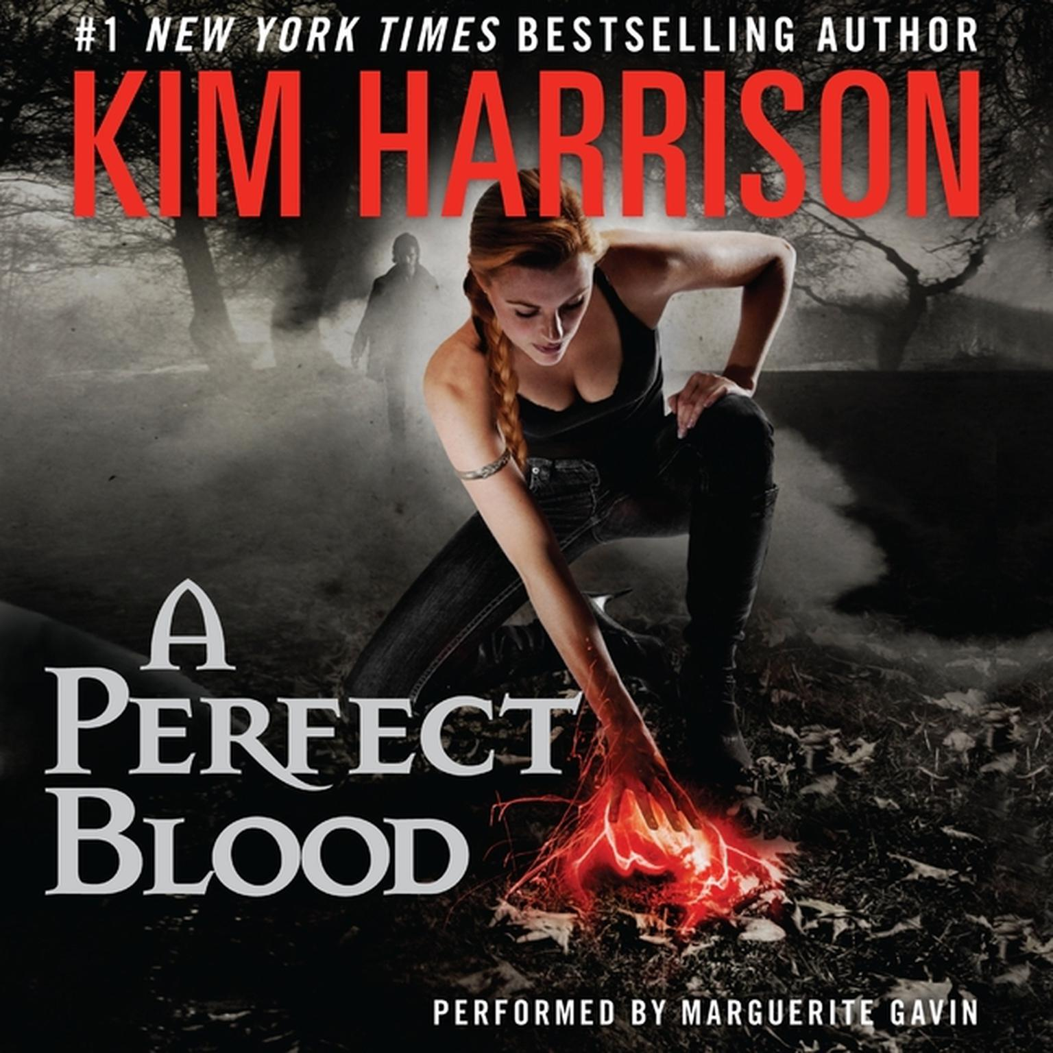 Printable A Perfect Blood Audiobook Cover Art