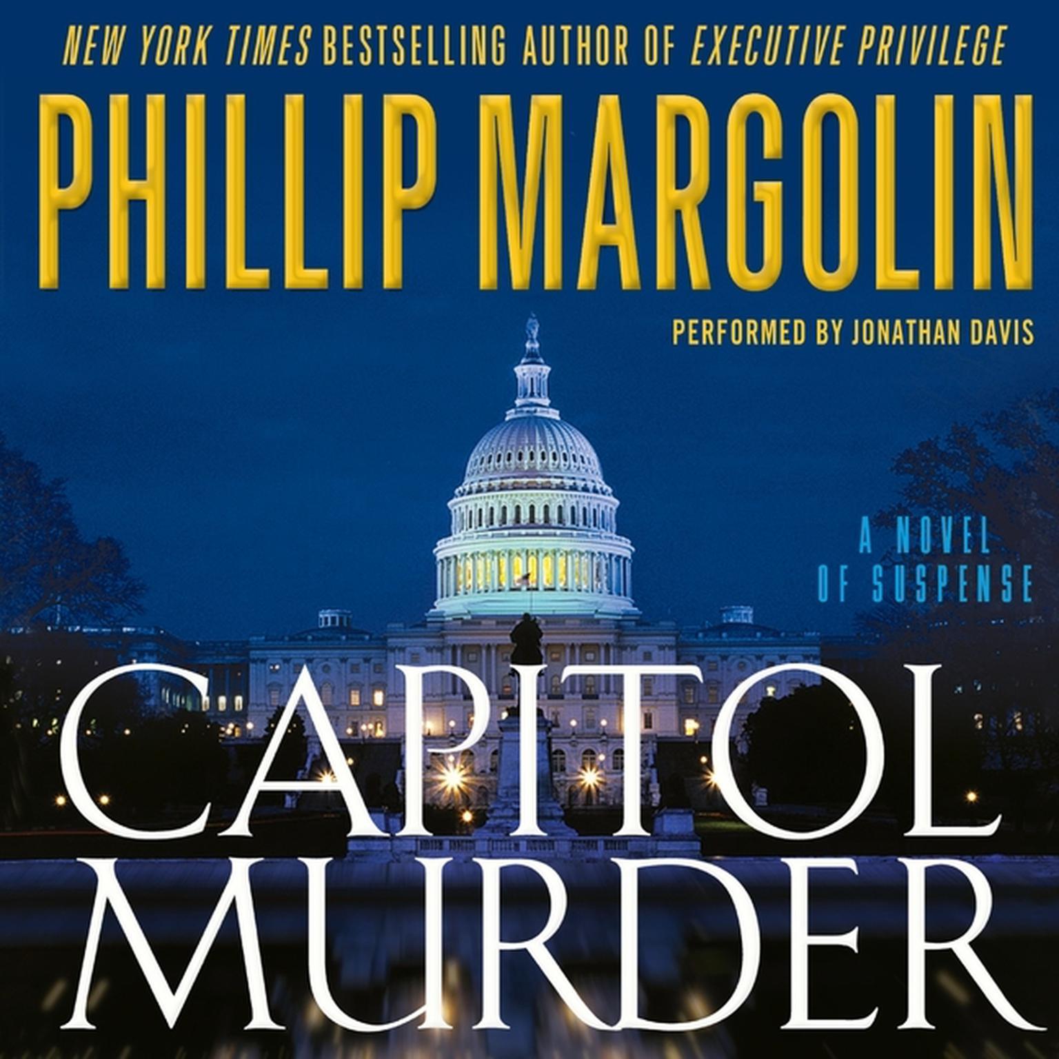 Printable Capitol Murder Audiobook Cover Art