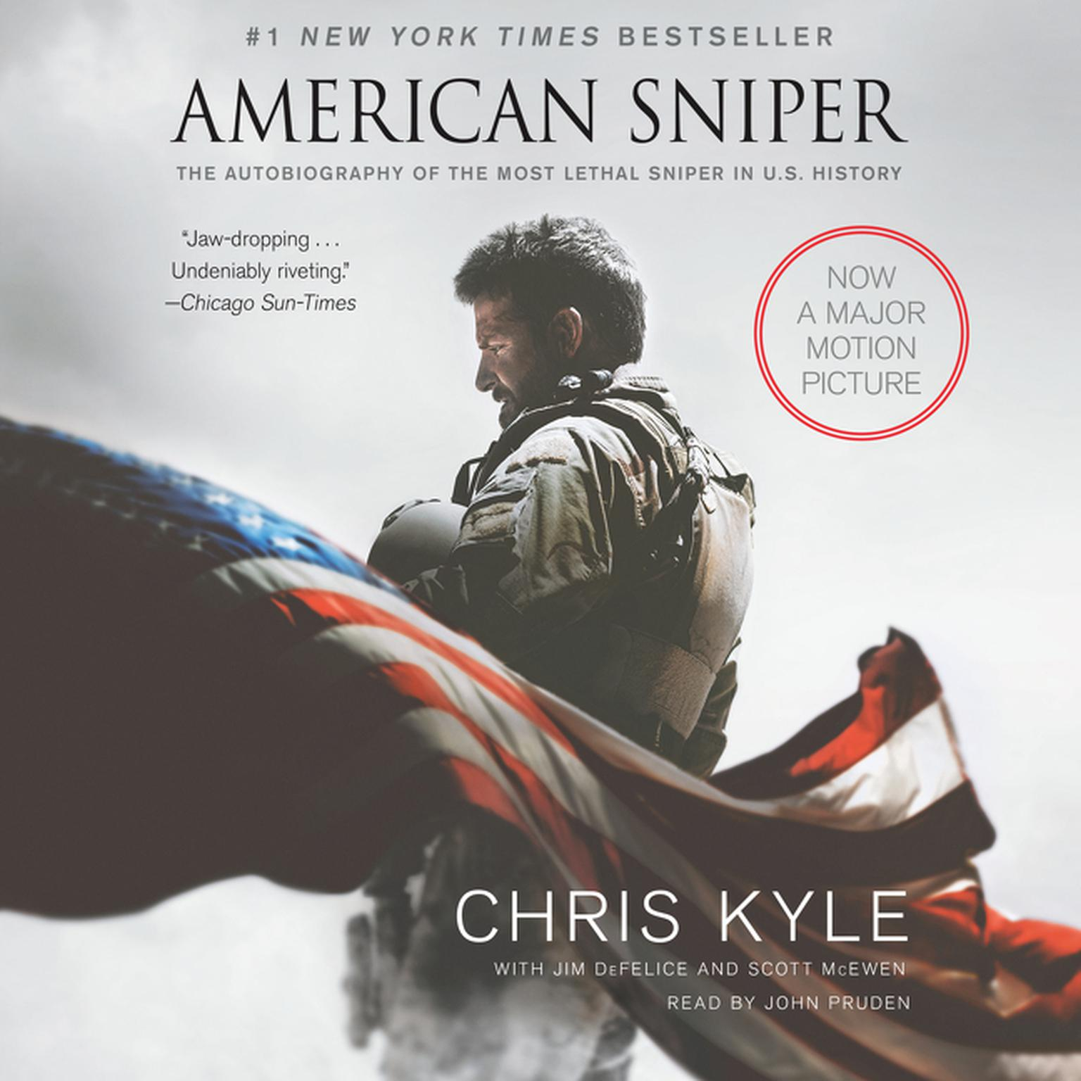 Printable American Sniper: The Autobiography of the Most Lethal Sniper in U.S. Military History Audiobook Cover Art