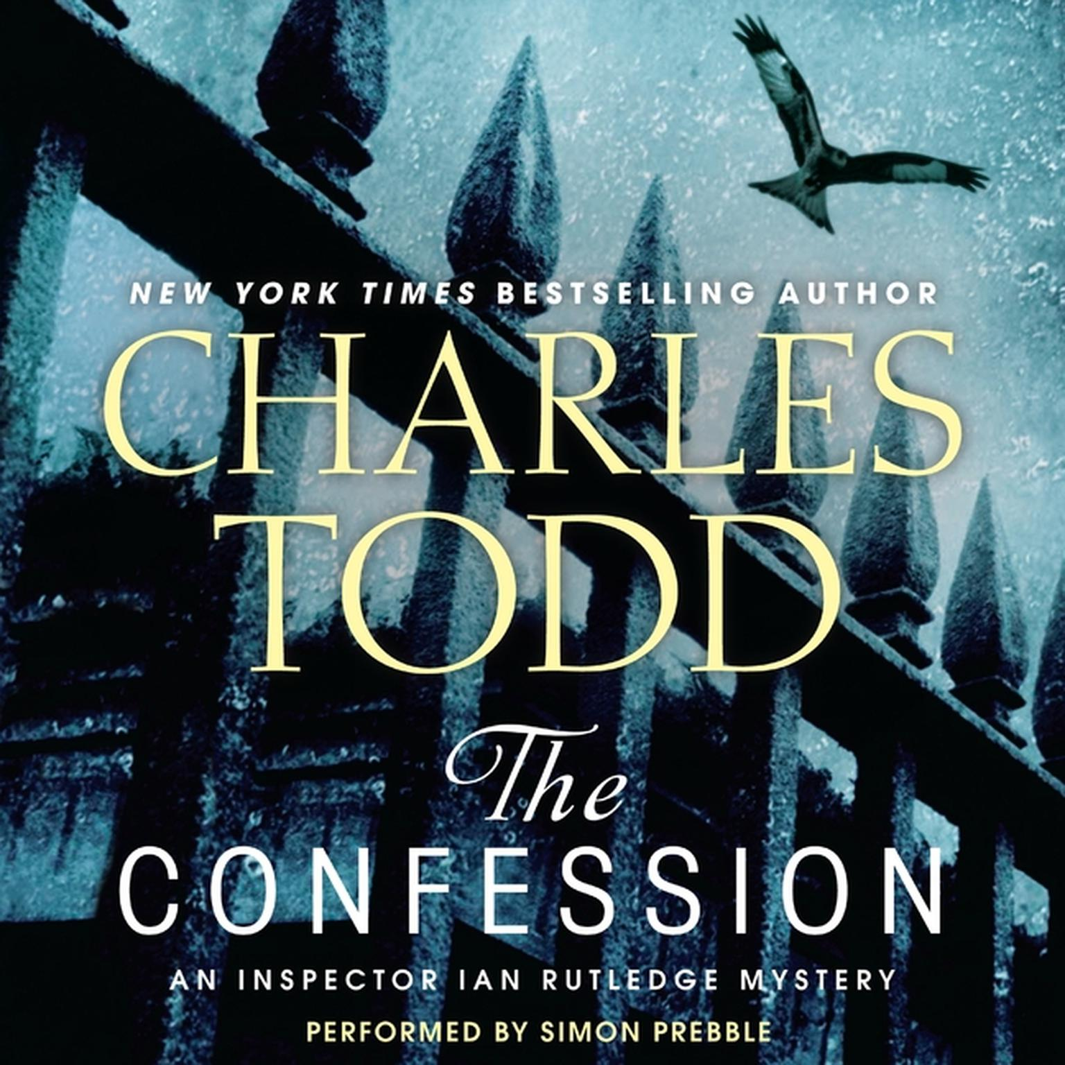 Printable The Confession: An Inspector Ian Rutledge Mystery Audiobook Cover Art