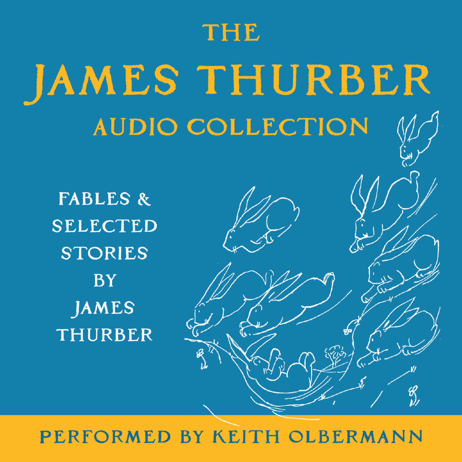 Printable The James Thurber Audio Collection: Fables and Selected Stories by James Thurber Audiobook Cover Art