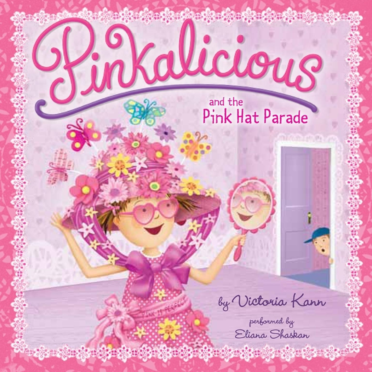 Printable Pinkalicious and the Pink Hat Parade Audiobook Cover Art