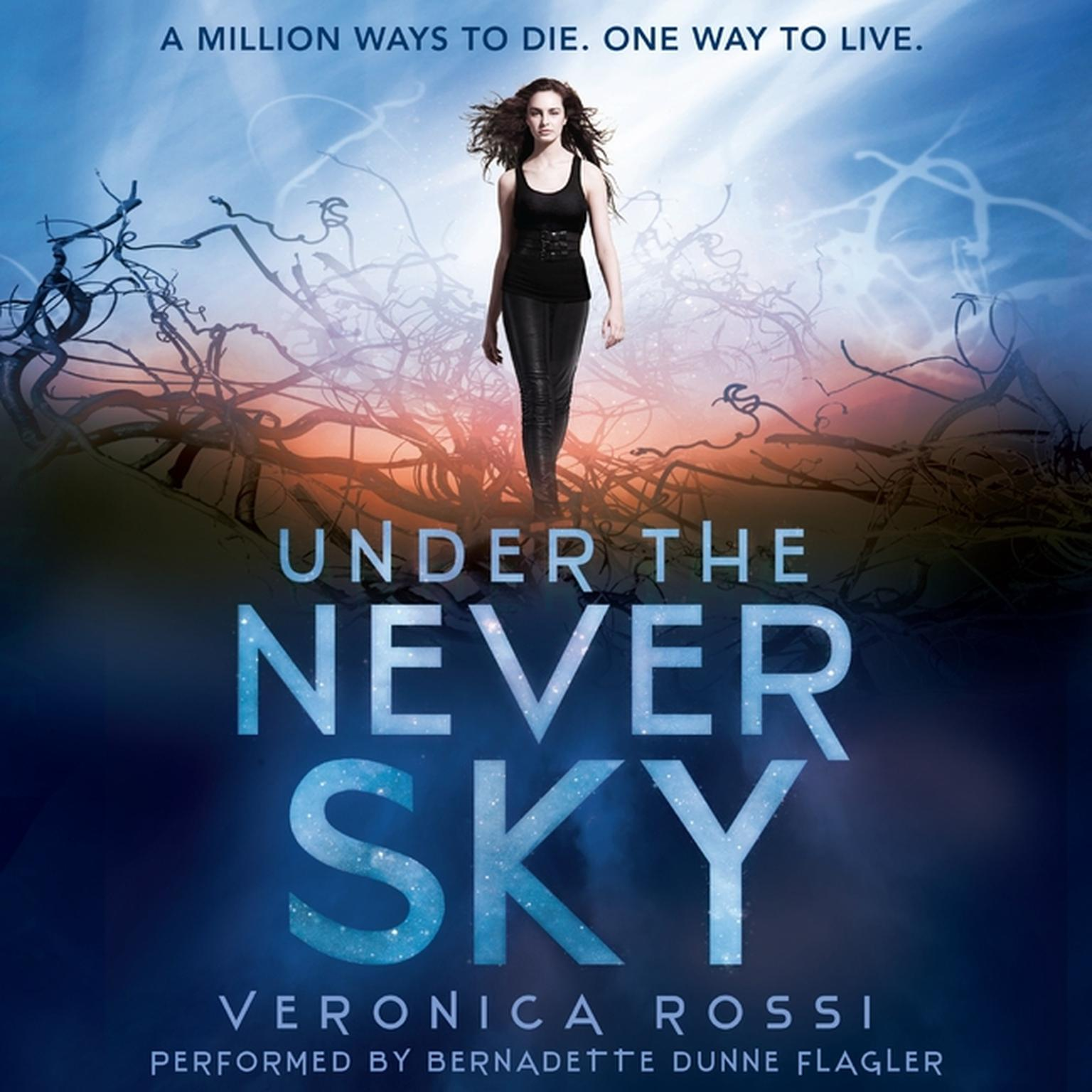 Printable Under the Never Sky Audiobook Cover Art