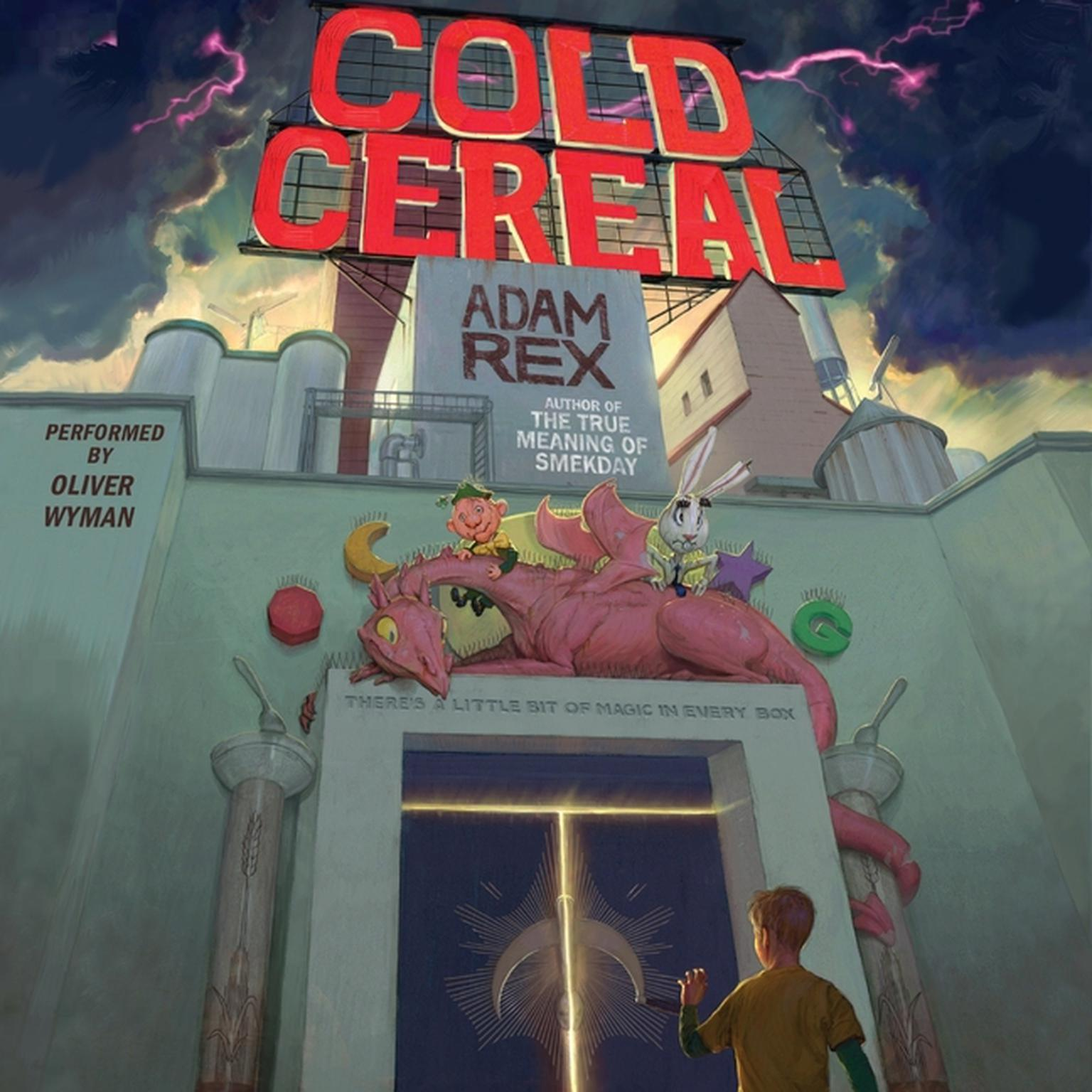 Printable Cold Cereal Audiobook Cover Art