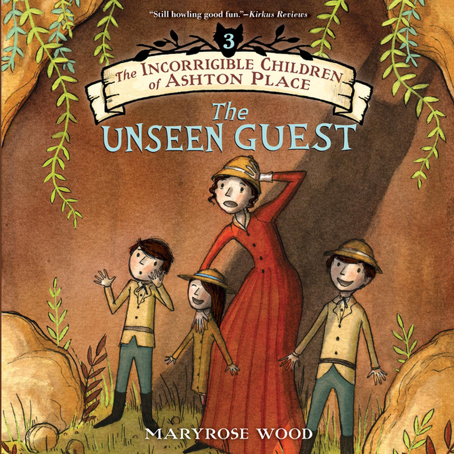 Printable The Unseen Guest Audiobook Cover Art