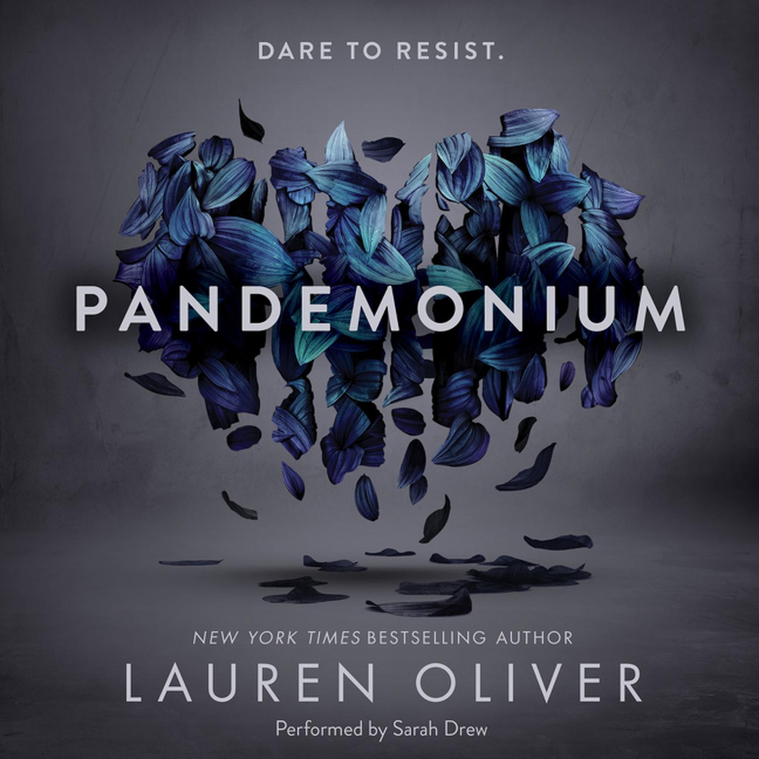 Printable Pandemonium Audiobook Cover Art