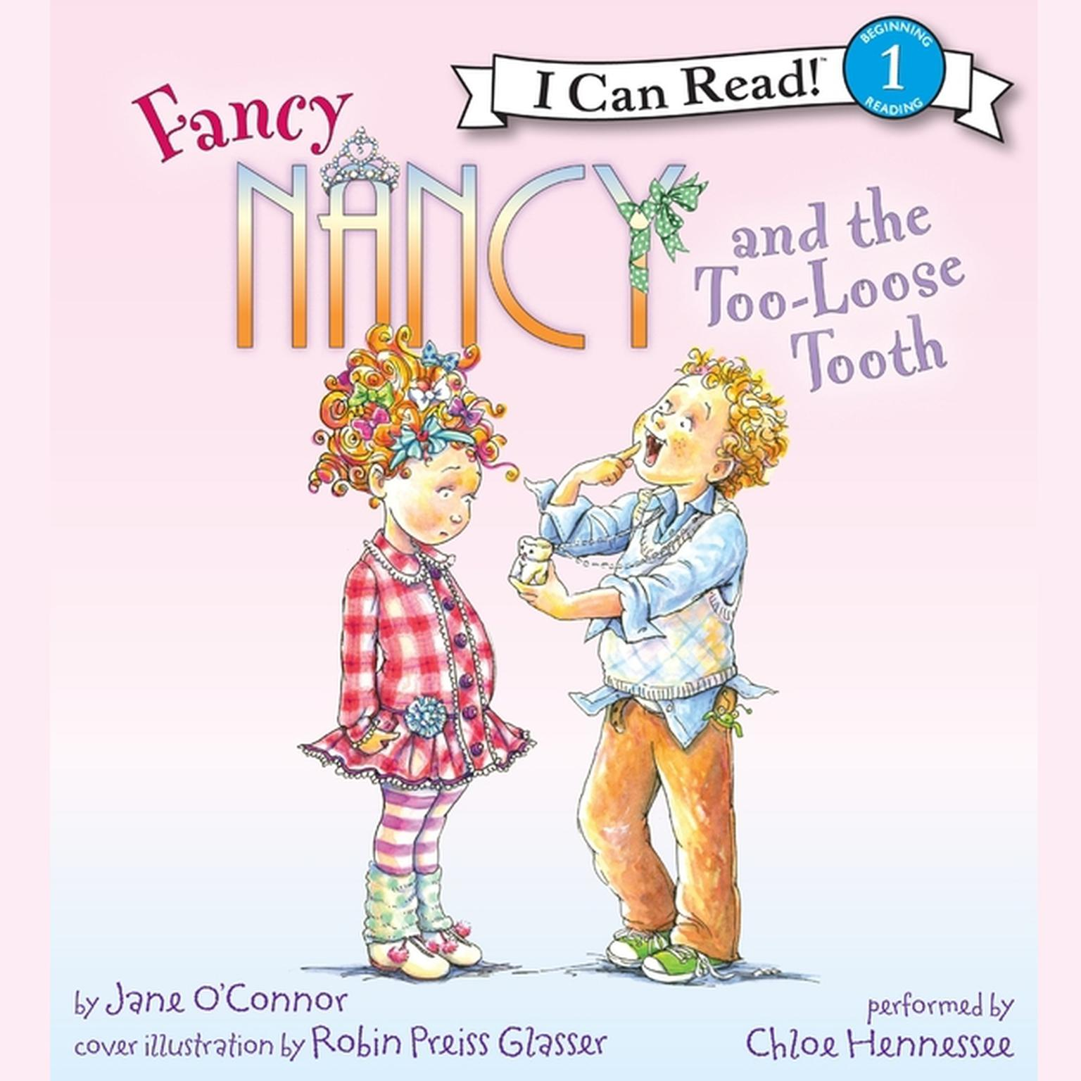 Printable Fancy Nancy and the Too-Loose Tooth Audiobook Cover Art