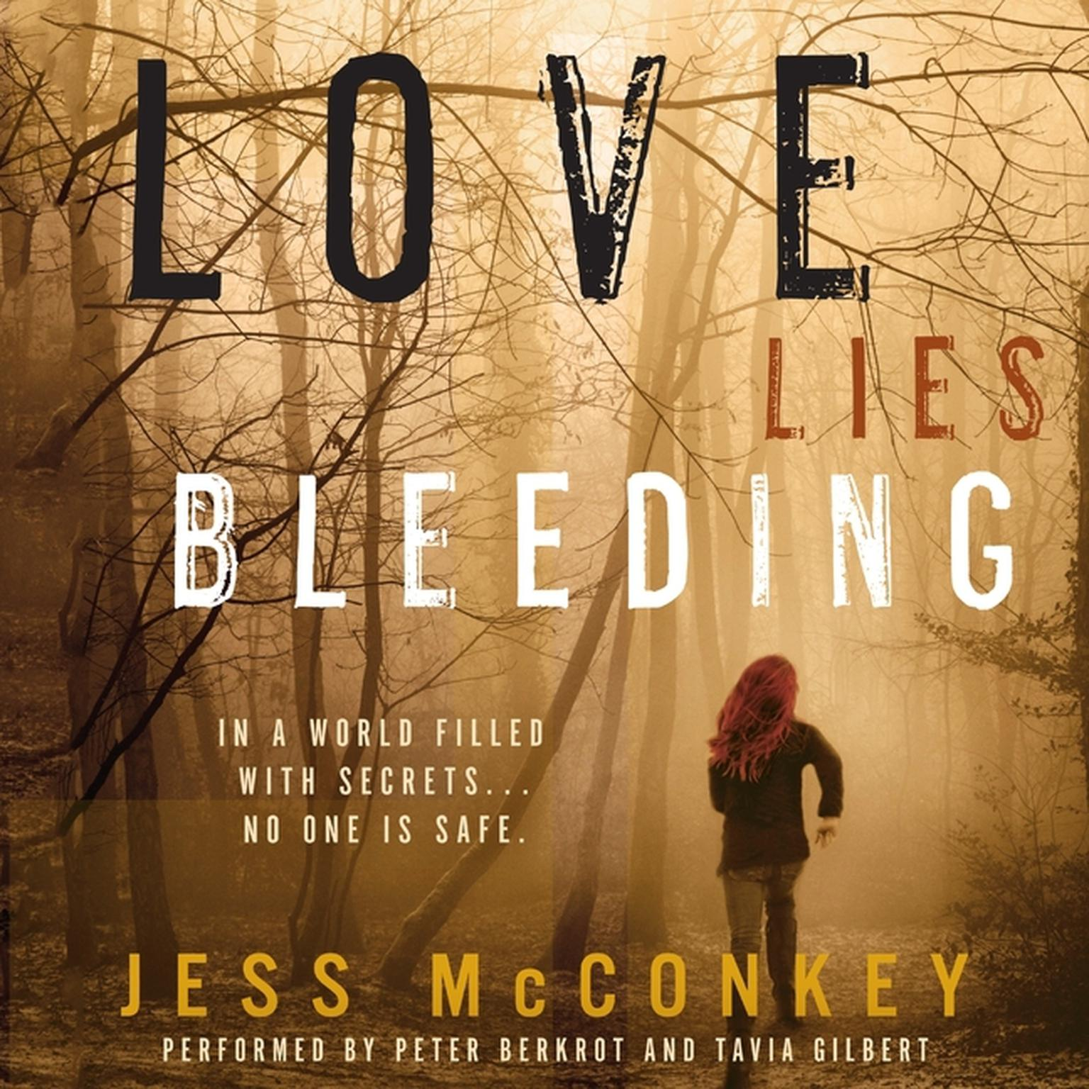 Printable Love Lies Bleeding: A Novel Audiobook Cover Art