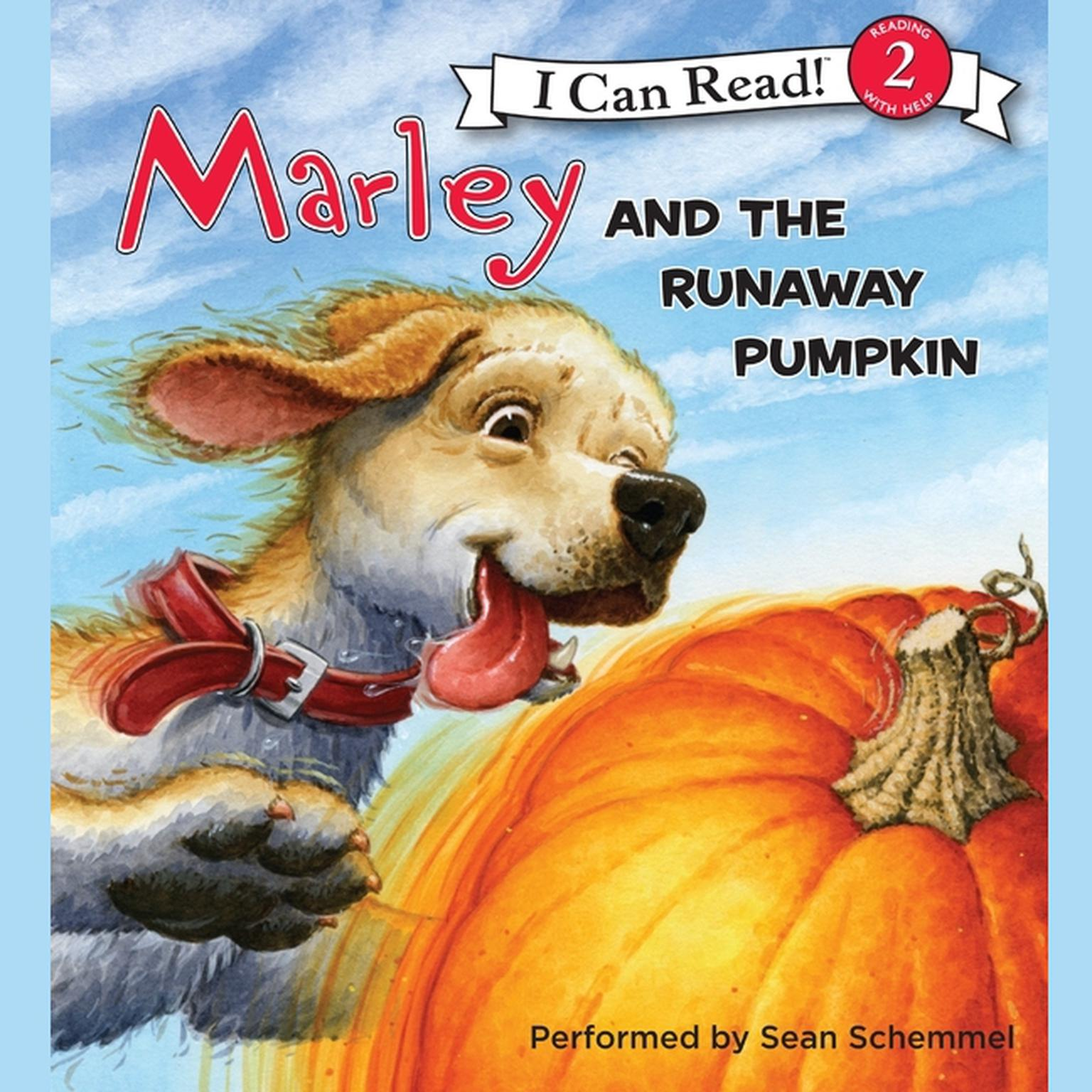 Printable Marley: Marley and the Runaway Pumpkin Audiobook Cover Art