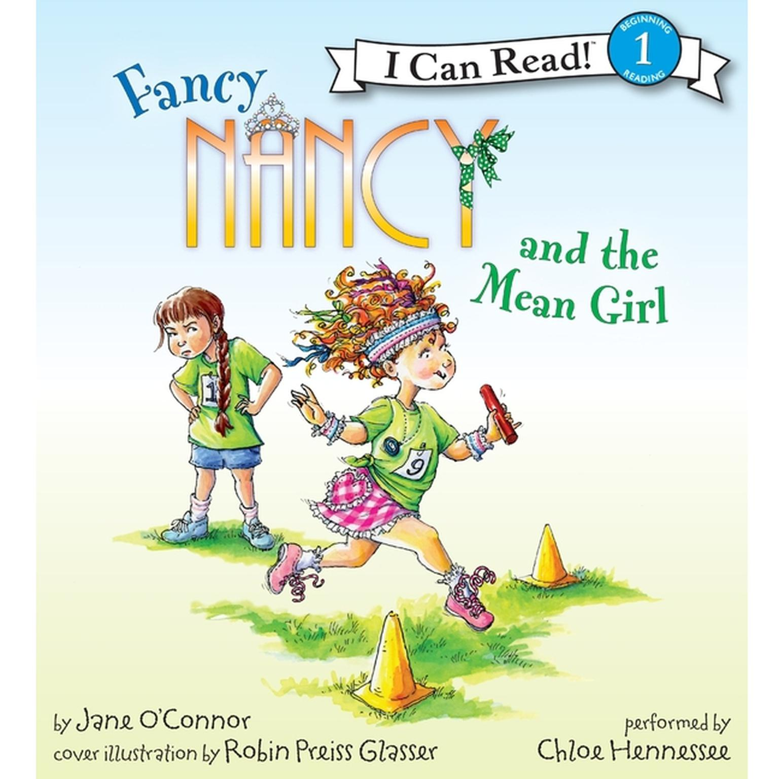 Printable Fancy Nancy and the Mean Girl Audiobook Cover Art