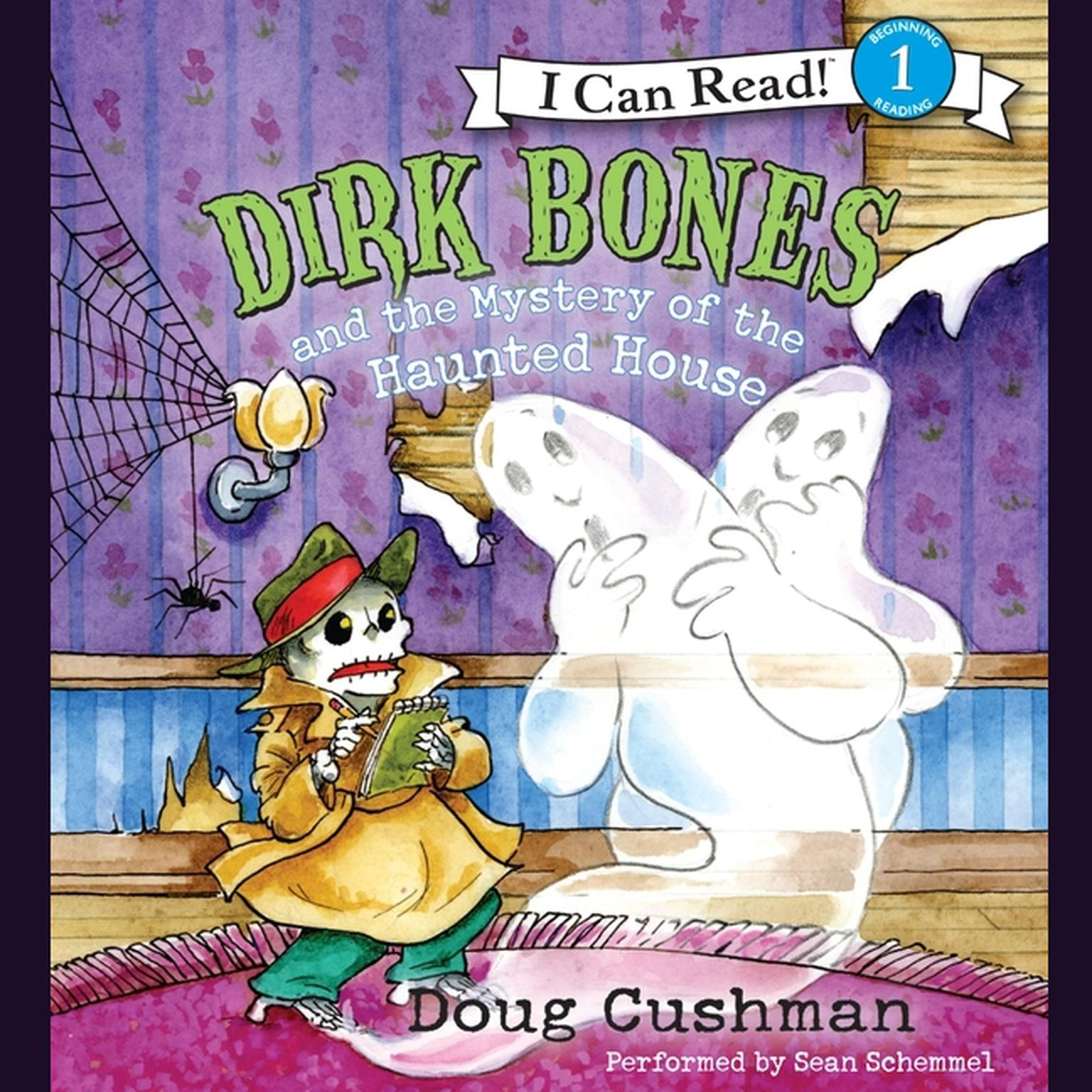 Printable Dirk Bones and the Mystery of the Haunted House Audiobook Cover Art