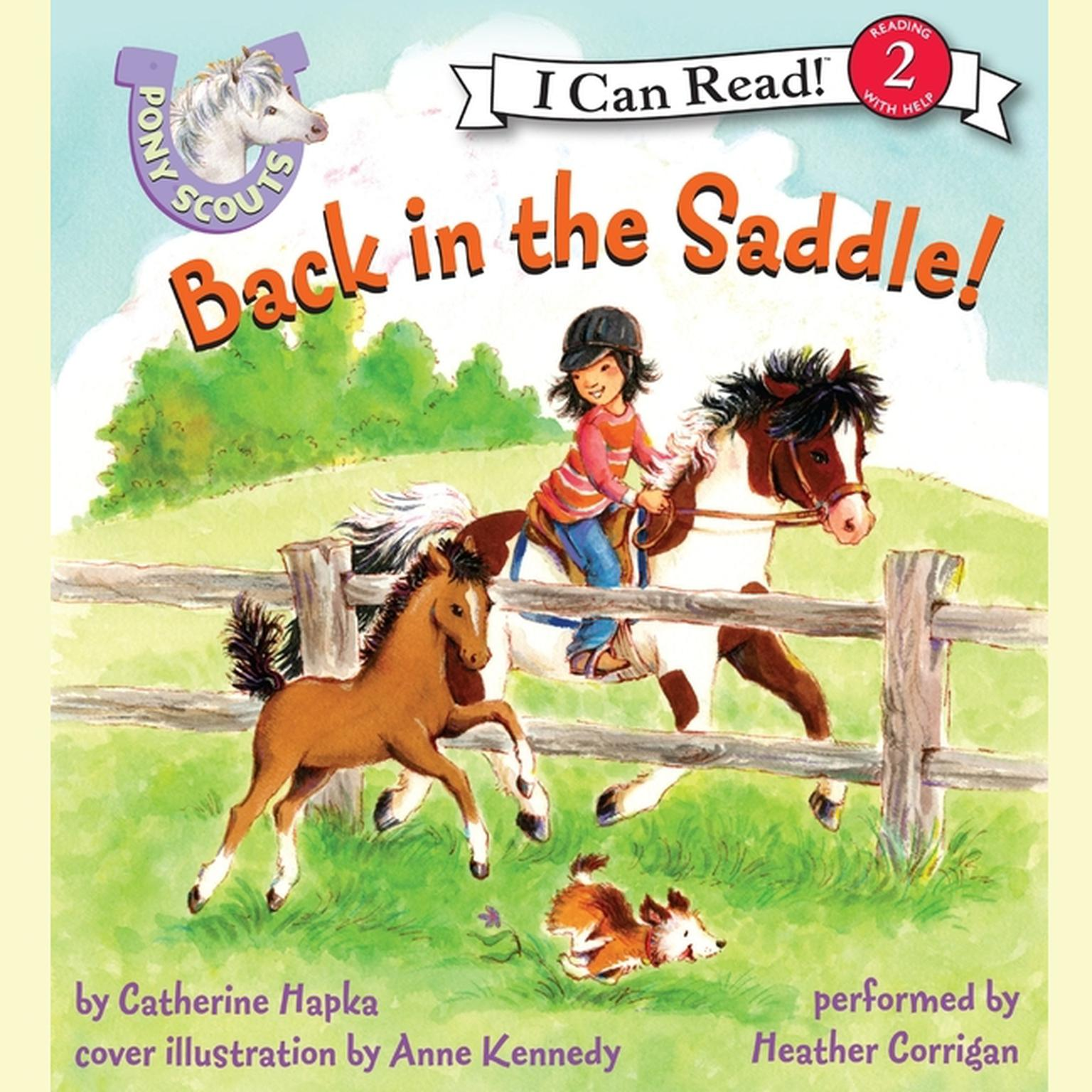 Printable Pony Scouts: Back in the Saddle Audiobook Cover Art