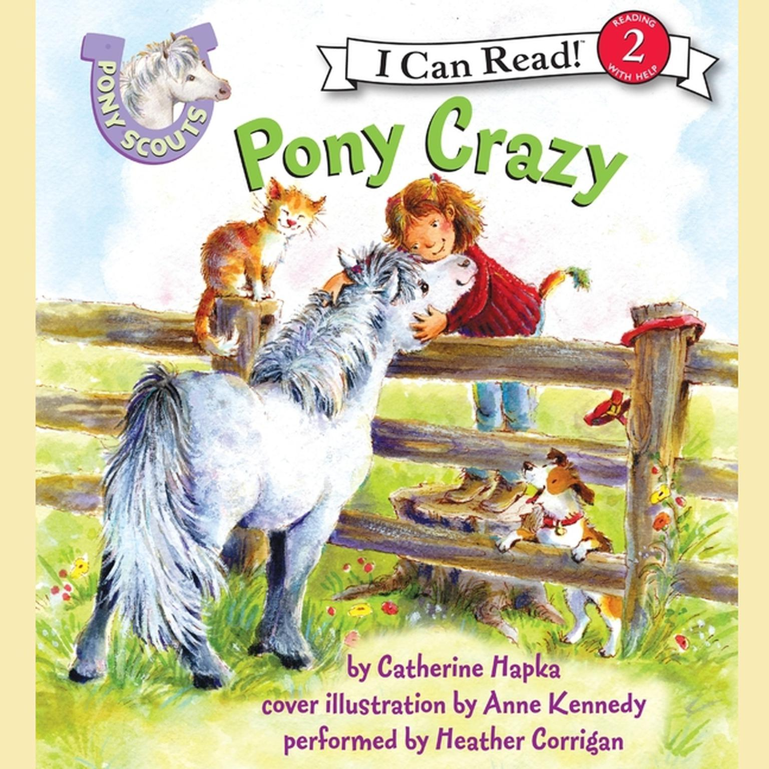 Printable Pony Crazy Audiobook Cover Art
