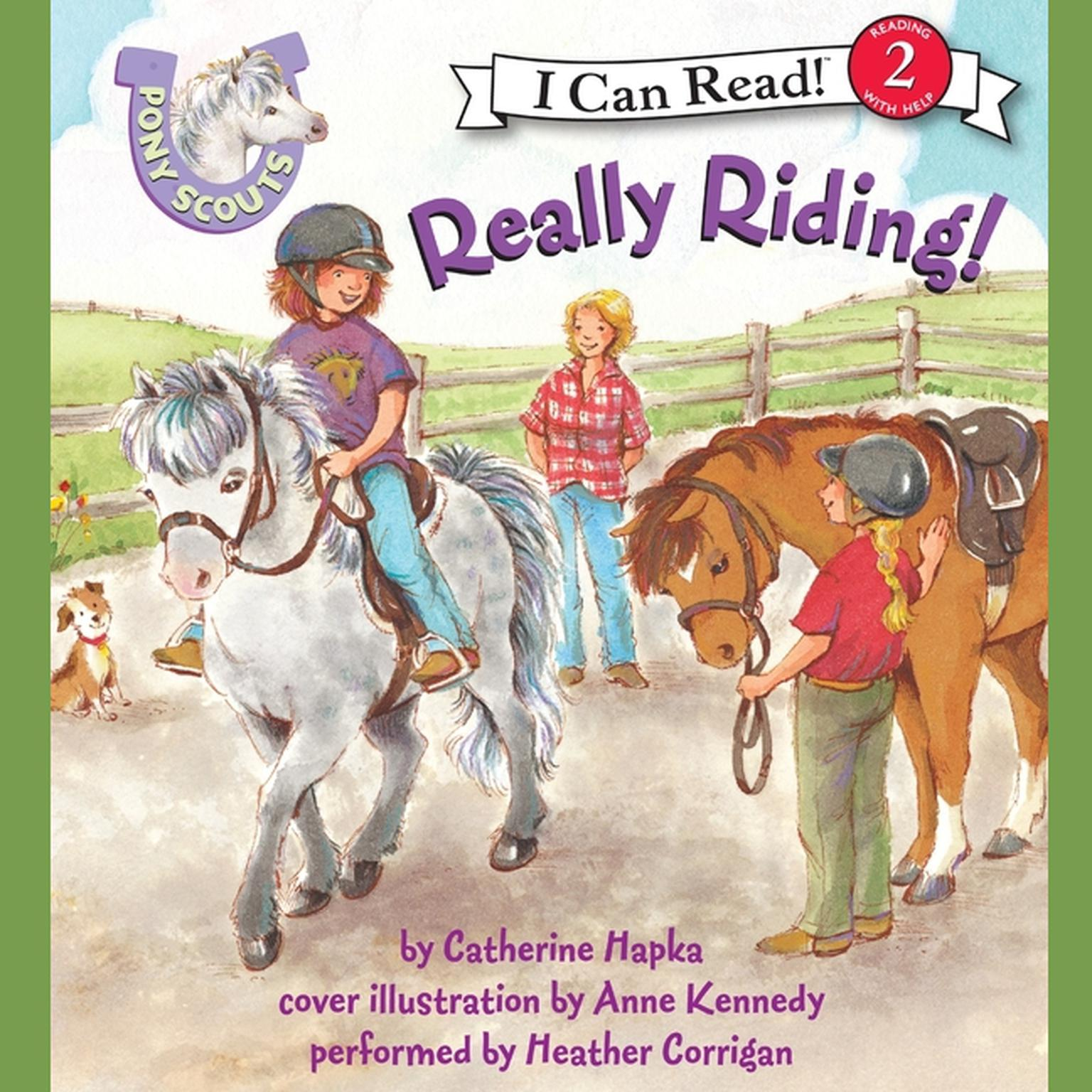 Printable Pony Scouts: Really Riding! Audiobook Cover Art