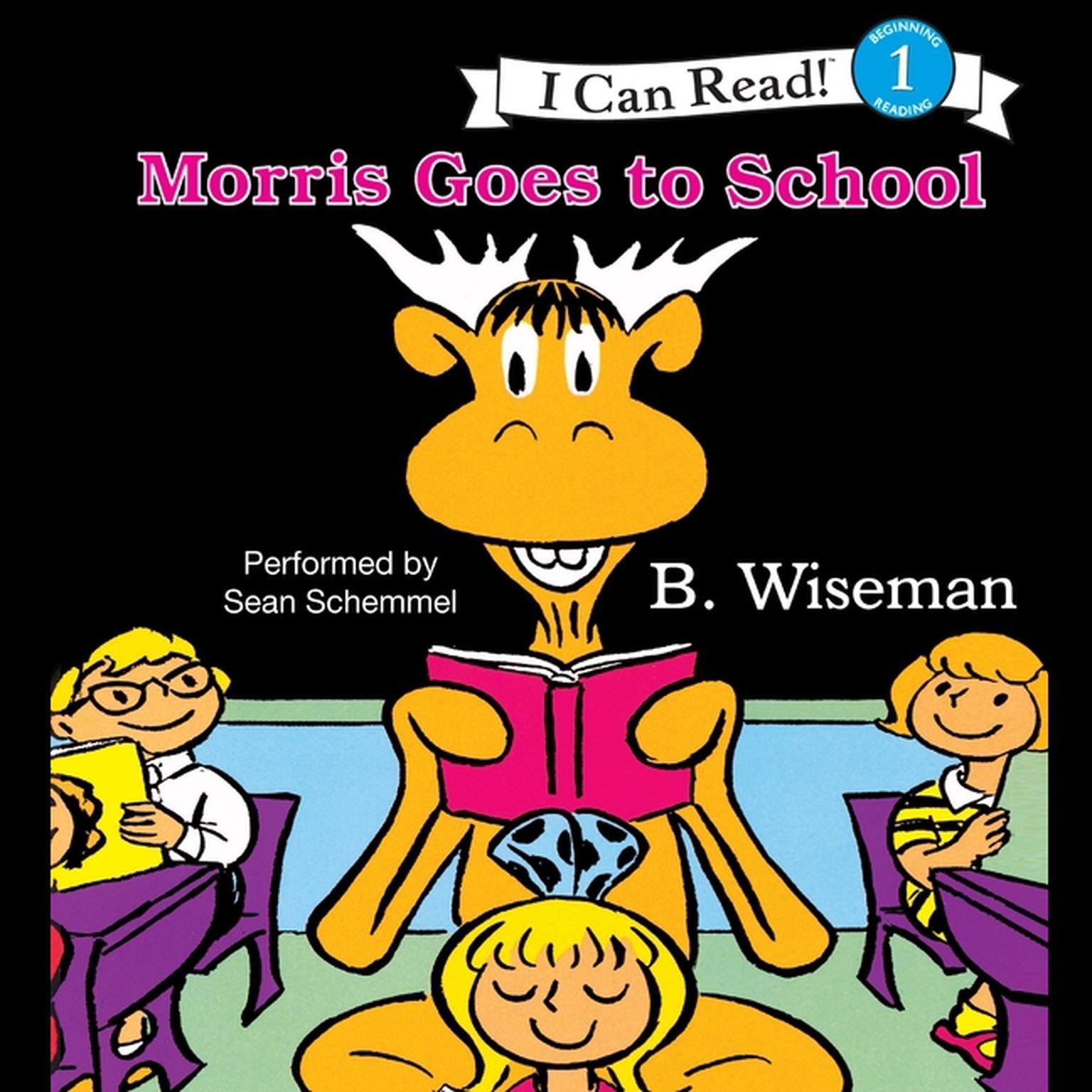 Printable Morris Goes to School Audiobook Cover Art
