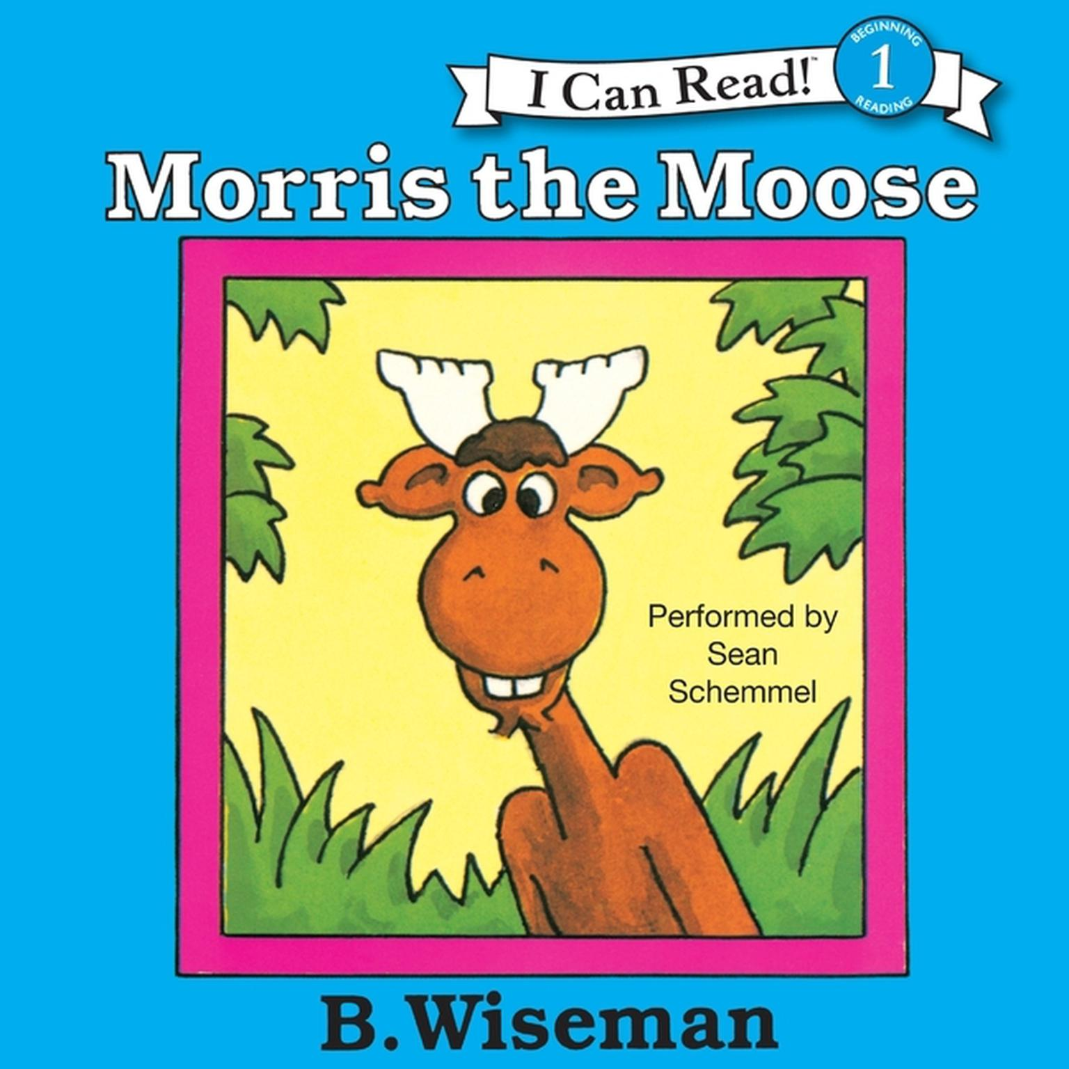 Printable Morris the Moose Audiobook Cover Art