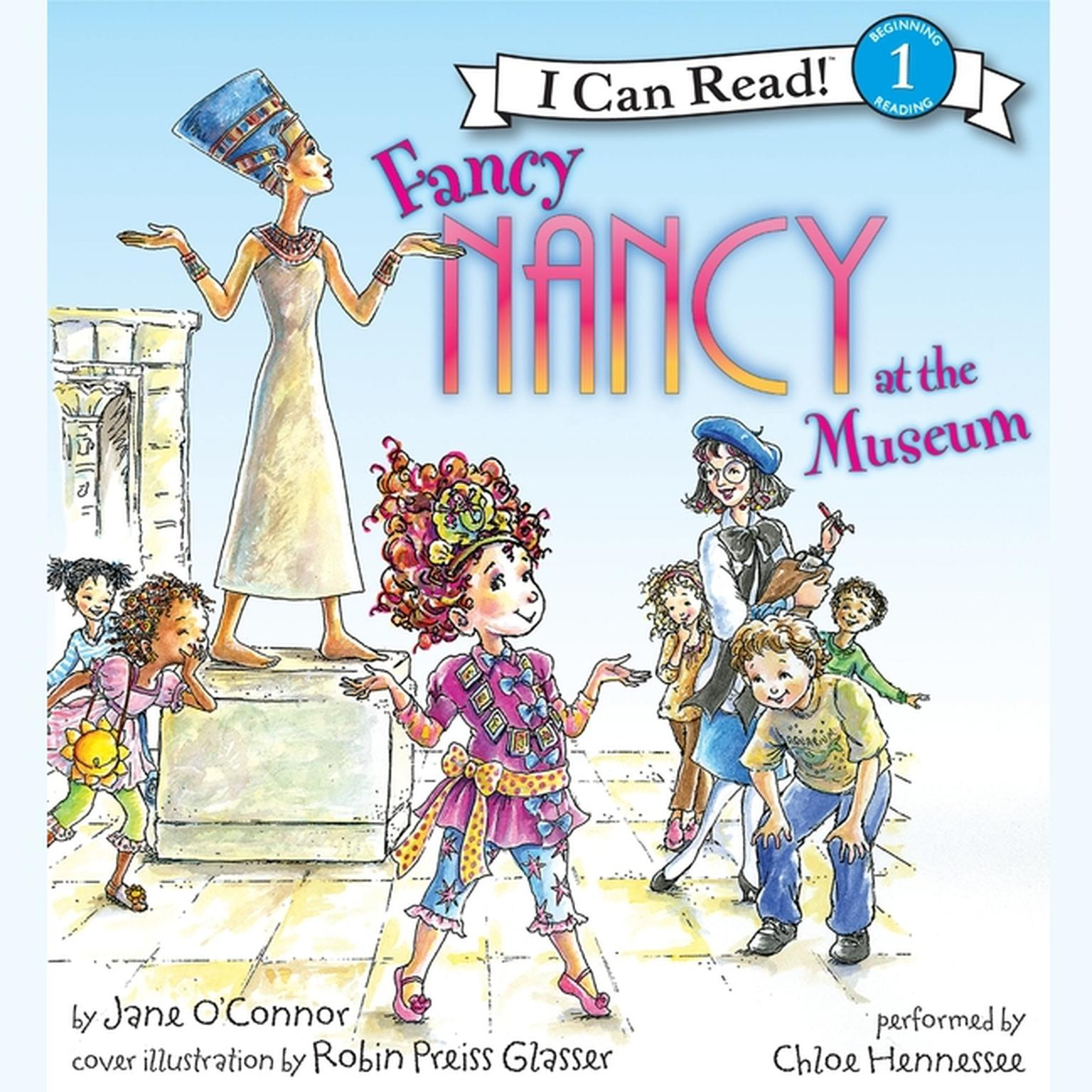 Printable Fancy Nancy at the Museum Audiobook Cover Art