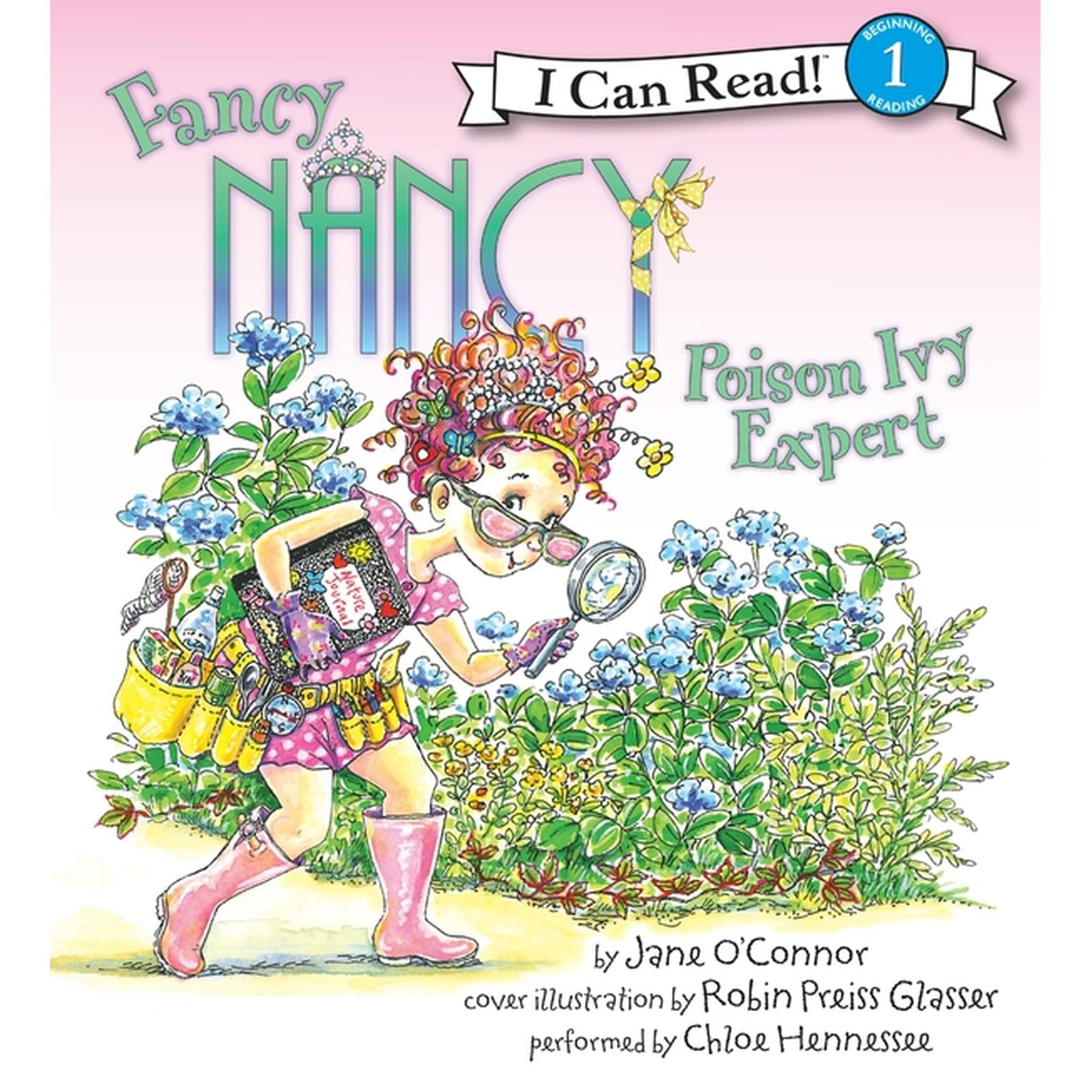 Printable Fancy Nancy: Poison Ivy Expert Audiobook Cover Art