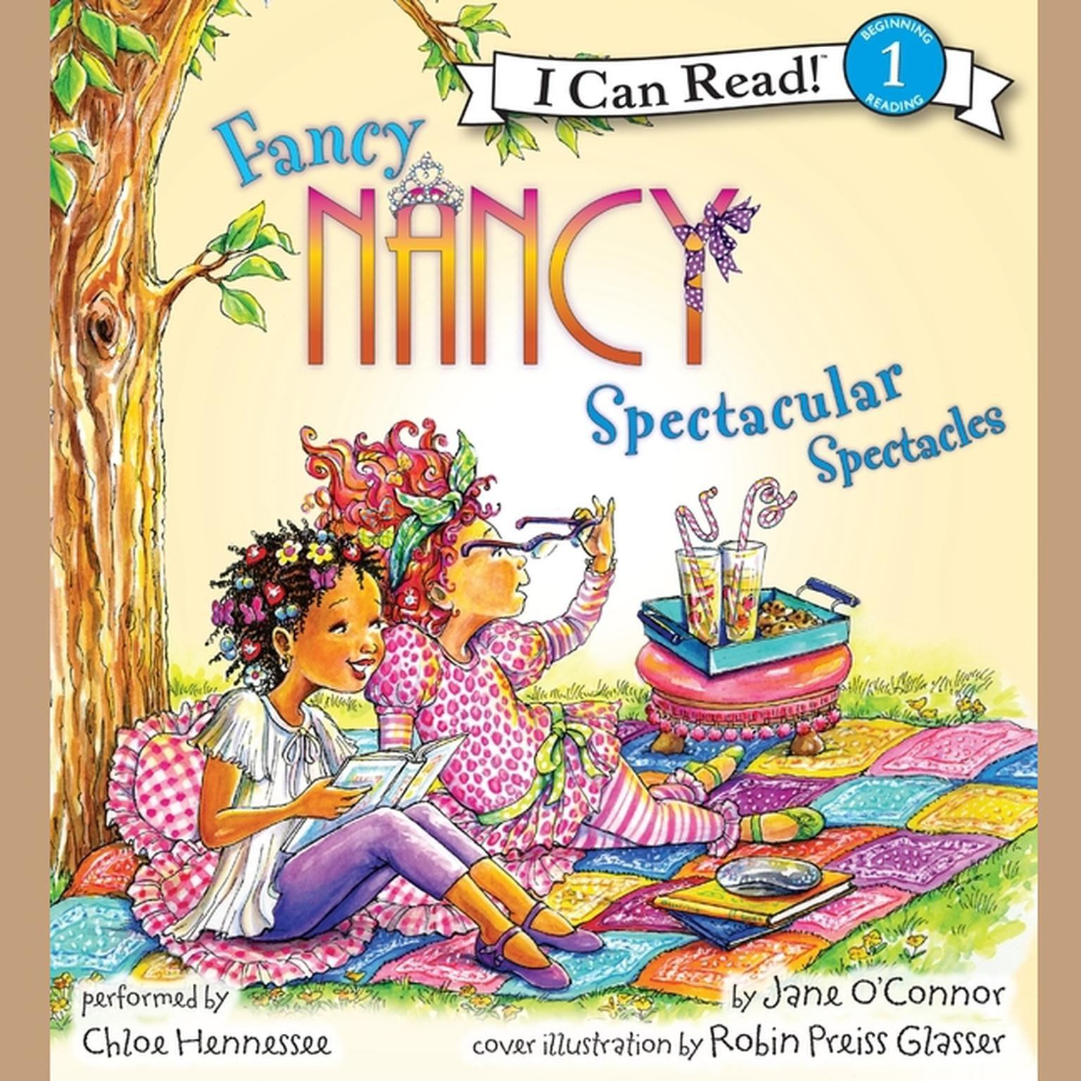 Printable Fancy Nancy: Spectacular Spectacles Audiobook Cover Art