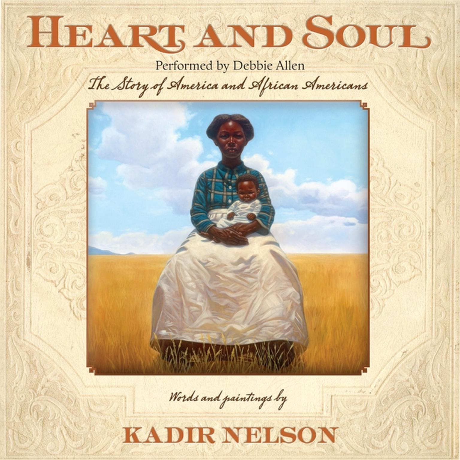 Printable Heart and Soul: The Story of America and African Americans Audiobook Cover Art