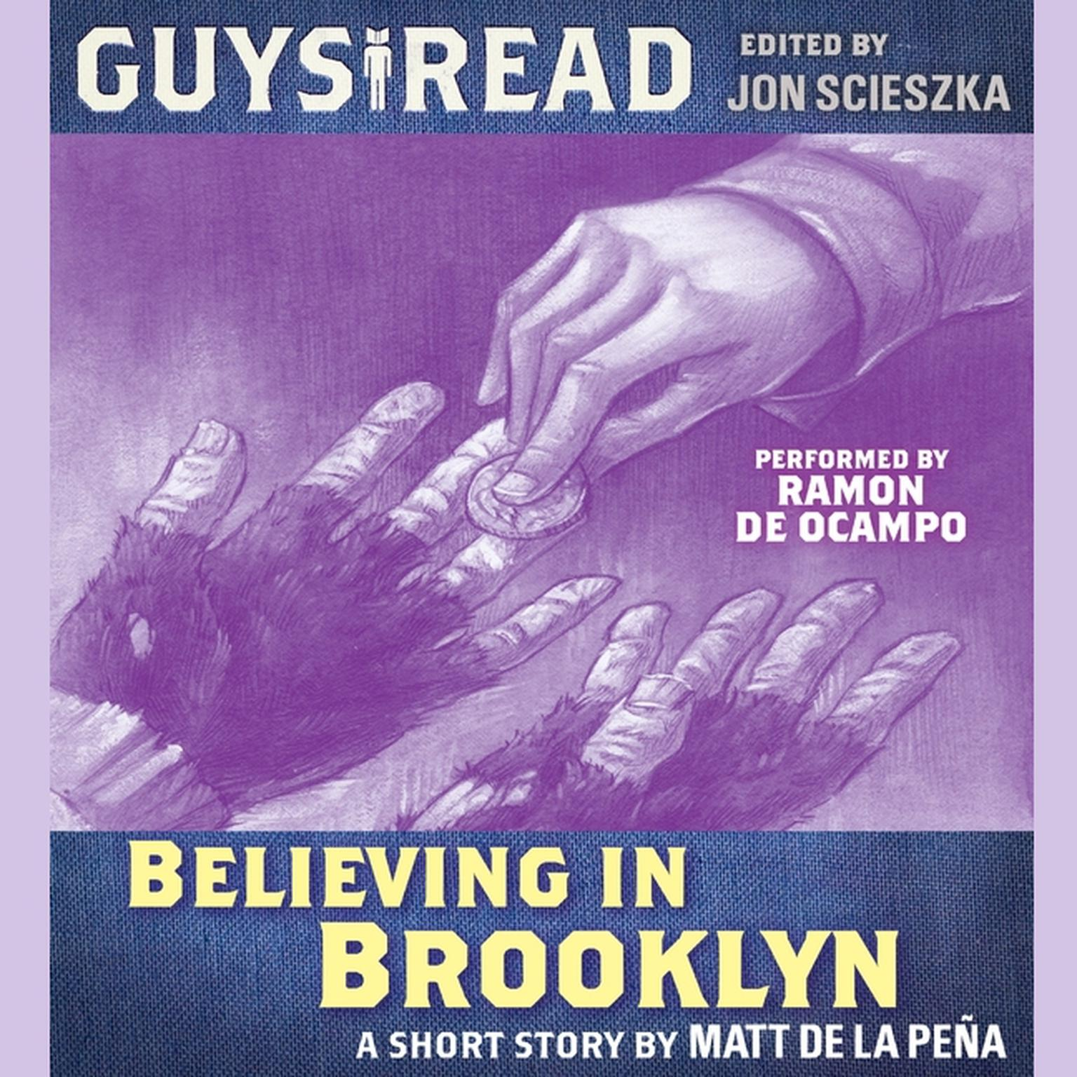 Printable Guys Read: Believing in Brooklyn Audiobook Cover Art