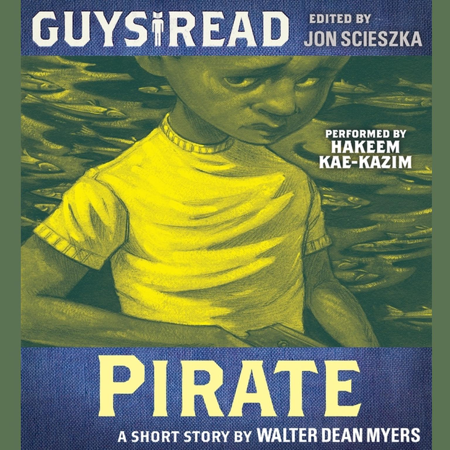 Printable Guys Read: Pirate Audiobook Cover Art