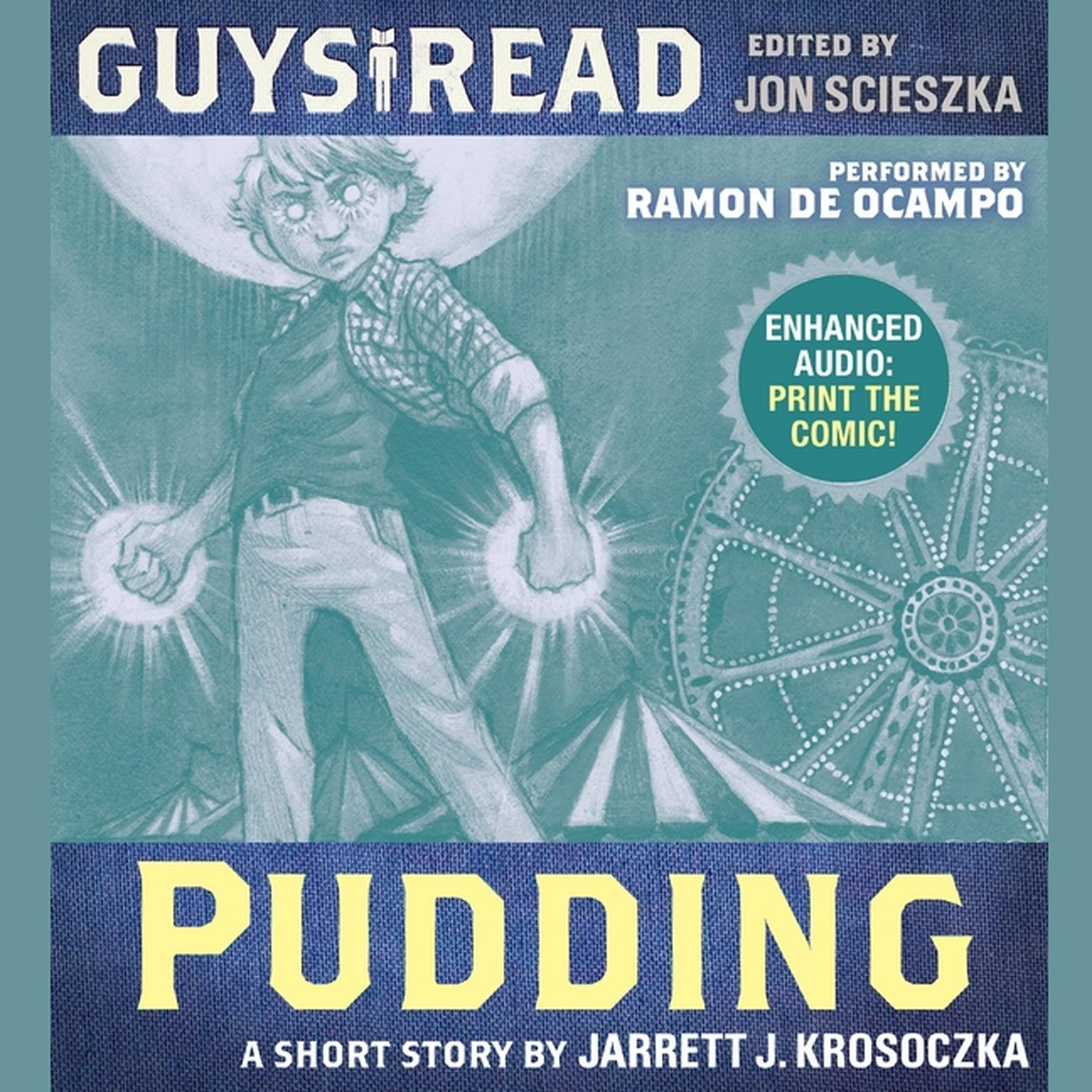 Printable Guys Read: Pudding Audiobook Cover Art