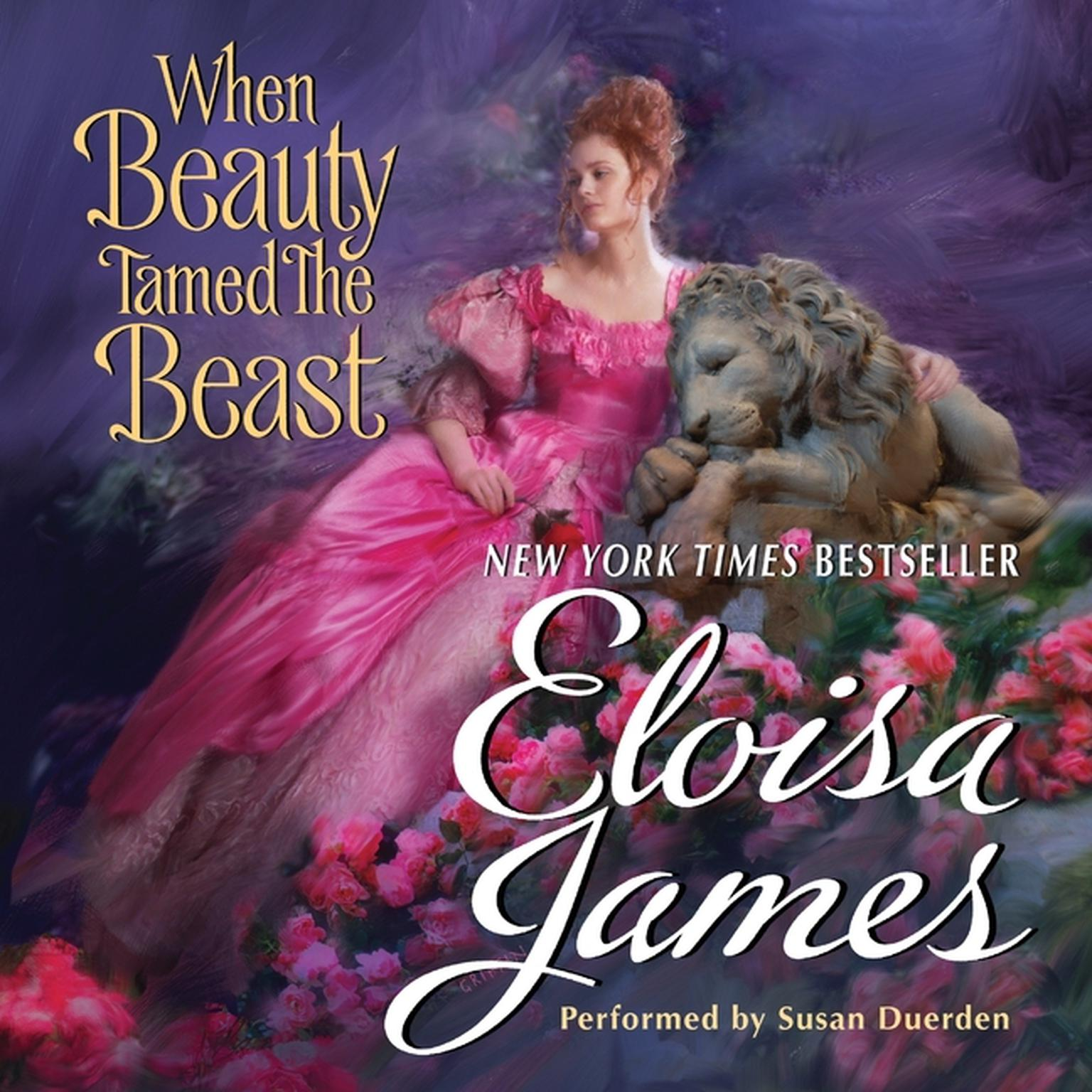 Printable When Beauty Tamed the Beast Audiobook Cover Art