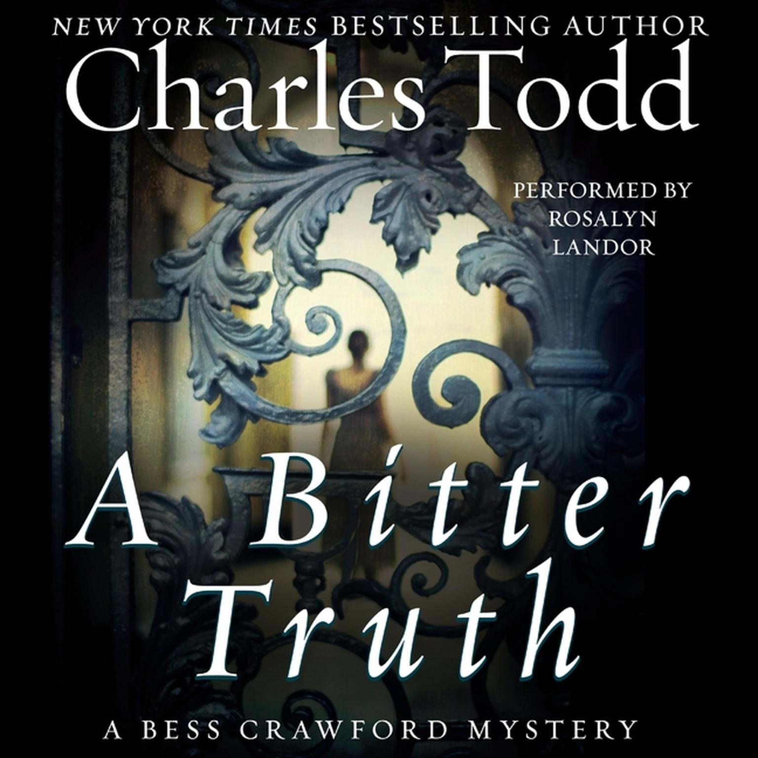 Printable A Bitter Truth: A Bess Crawford Mystery Audiobook Cover Art