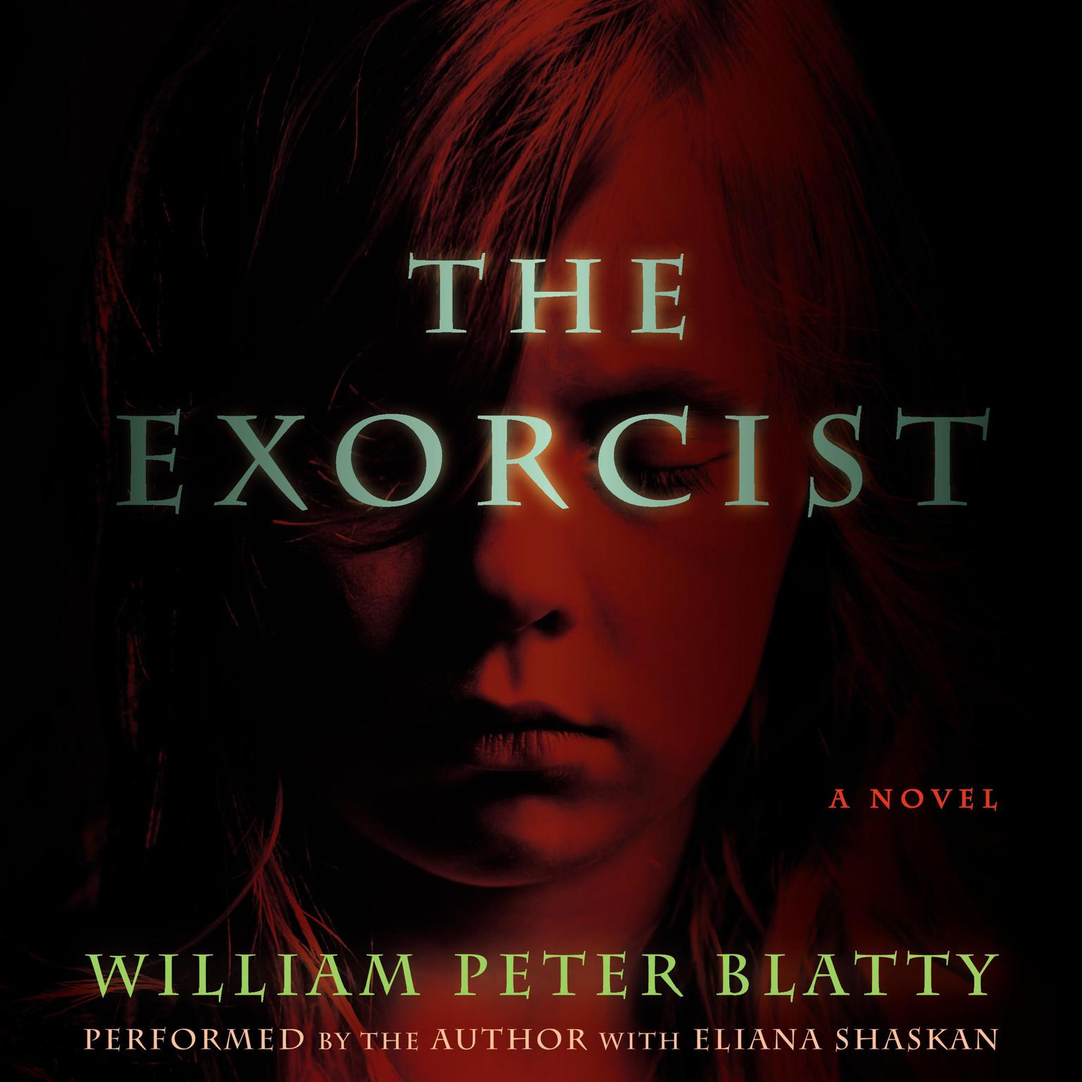 Printable The Exorcist: 40th Anniversary Edition Audiobook Cover Art