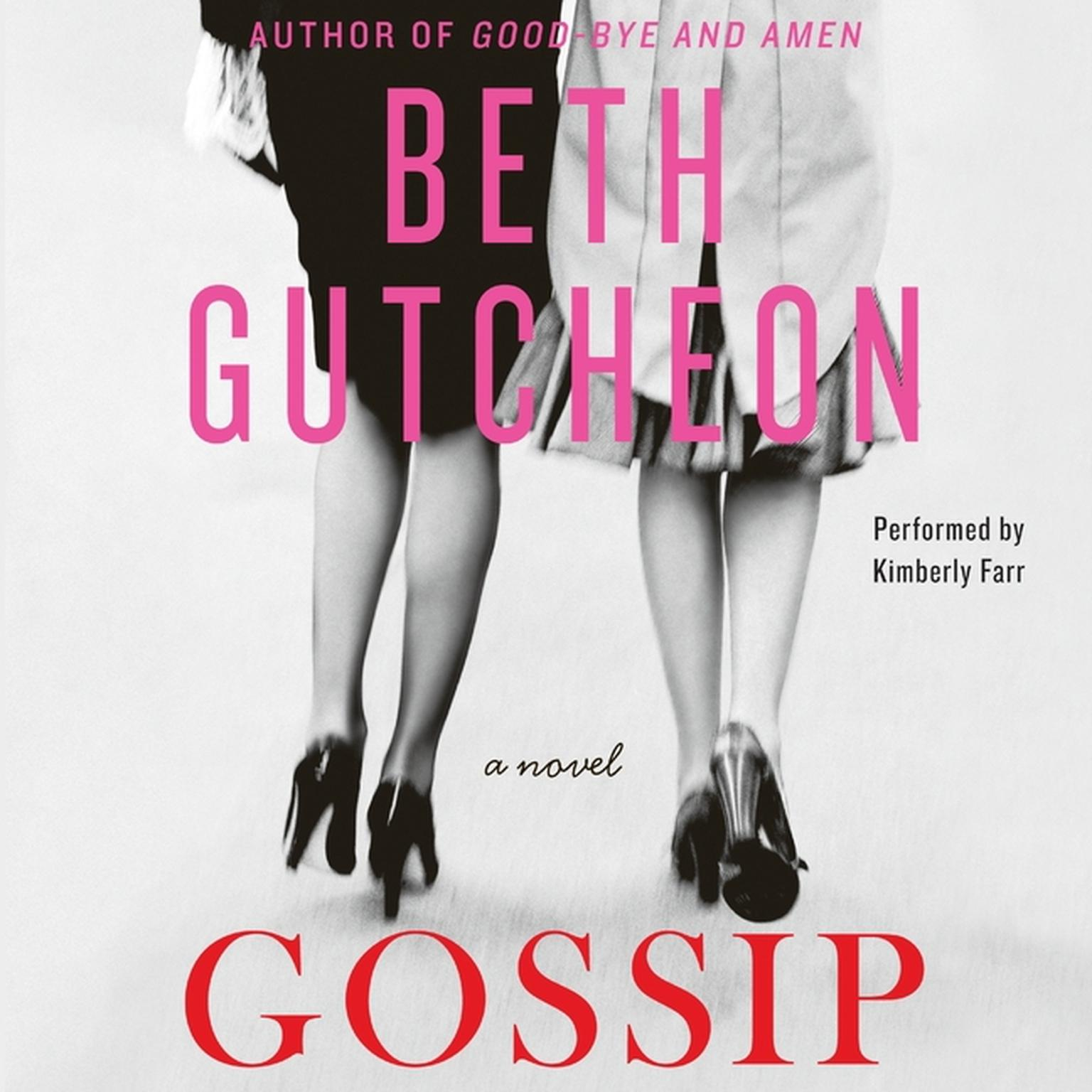 Printable Gossip: A Novel Audiobook Cover Art