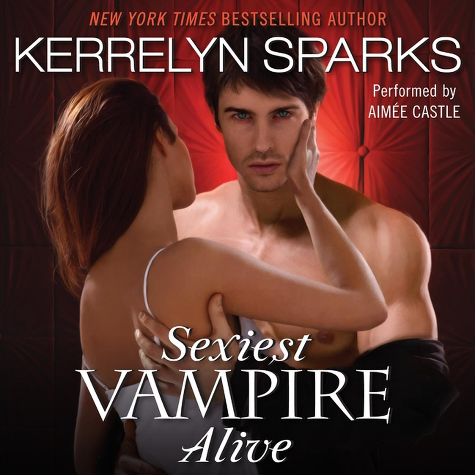 Printable Sexiest Vampire Alive Audiobook Cover Art