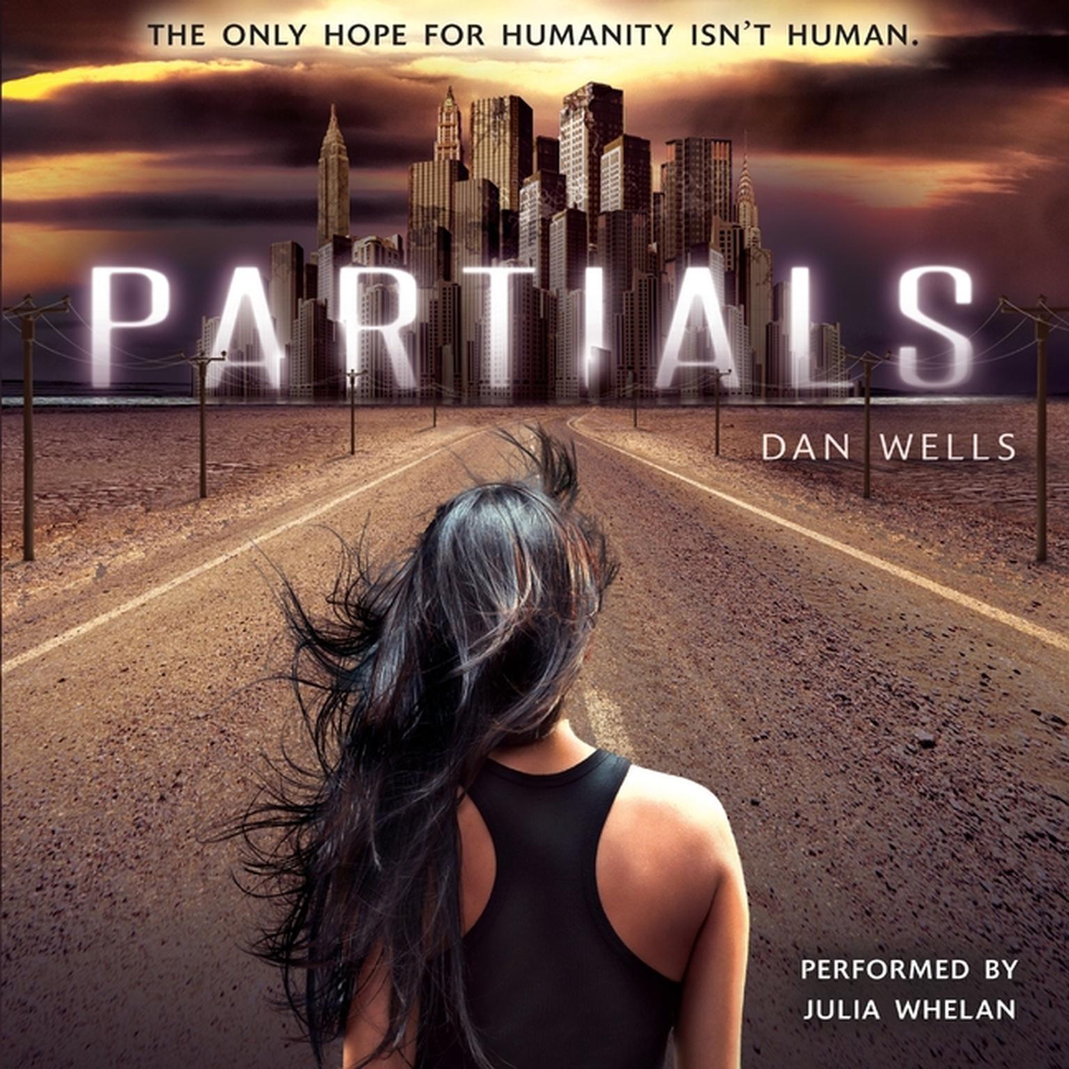 Printable Partials Audiobook Cover Art