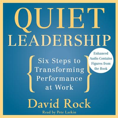 Quiet Leadership: Six Steps to Transforming Performance at Work Audiobook, by David Rock