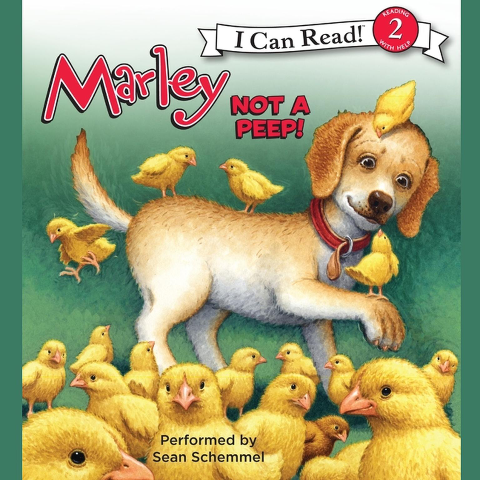 Printable Marley: Not a Peep! Audiobook Cover Art