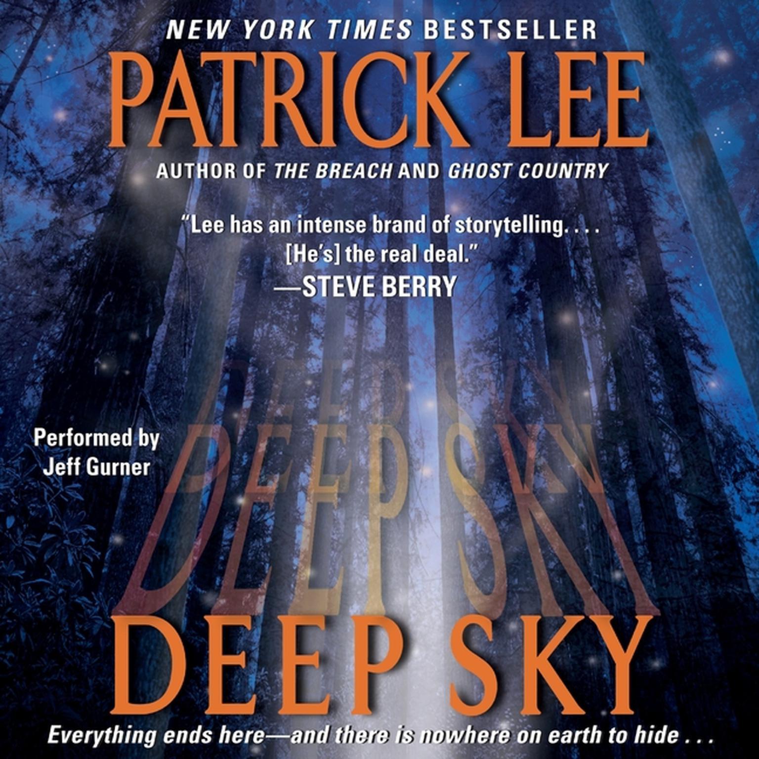 Printable Deep Sky Audiobook Cover Art