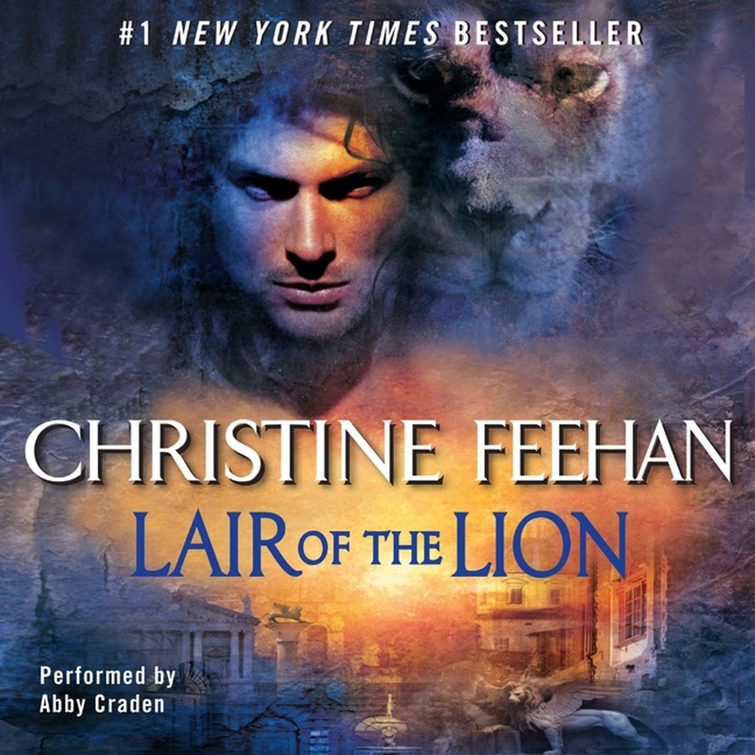 Printable Lair of the Lion Audiobook Cover Art