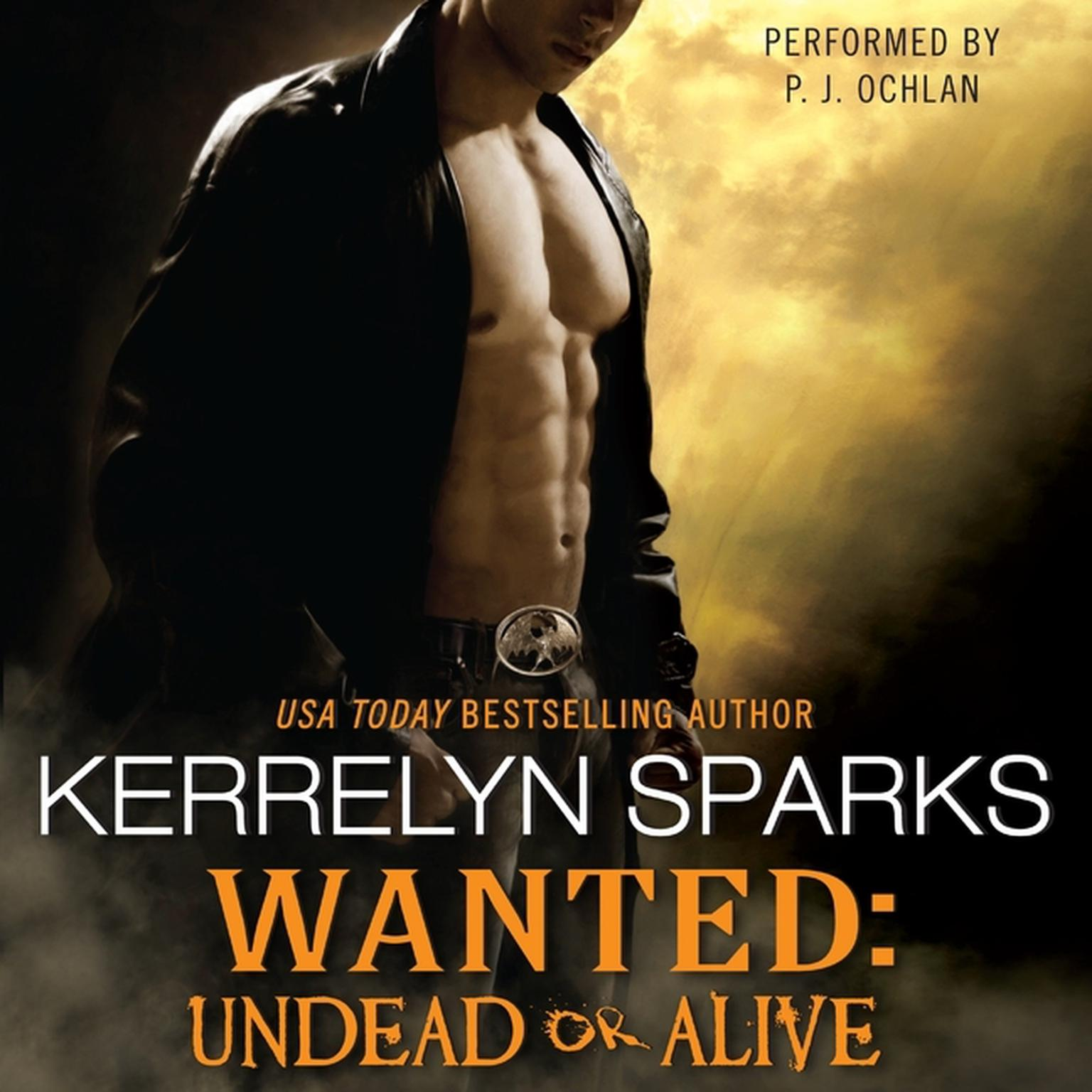 Printable Wanted: Undead or Alive Audiobook Cover Art