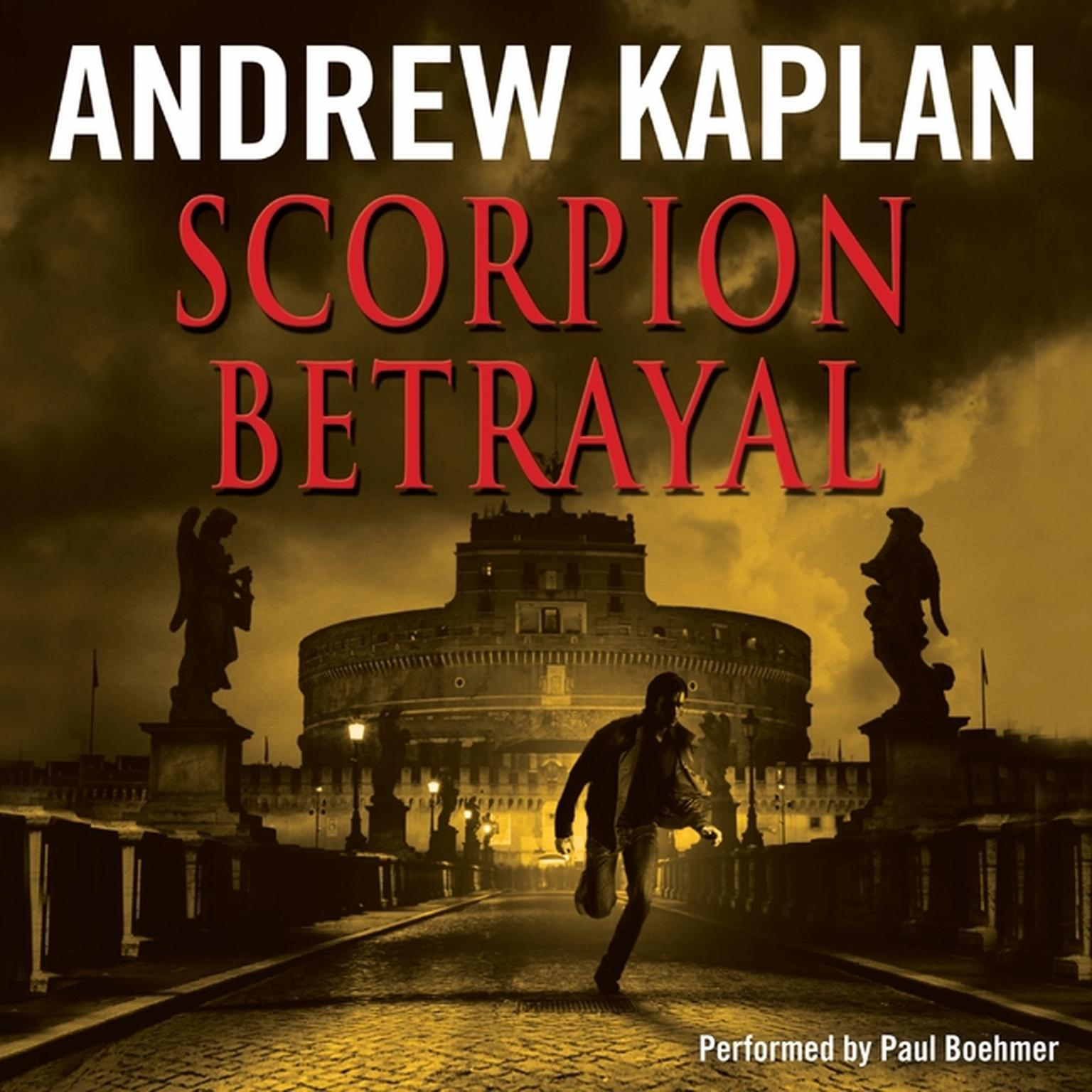 Printable Scorpion Betrayal Audiobook Cover Art
