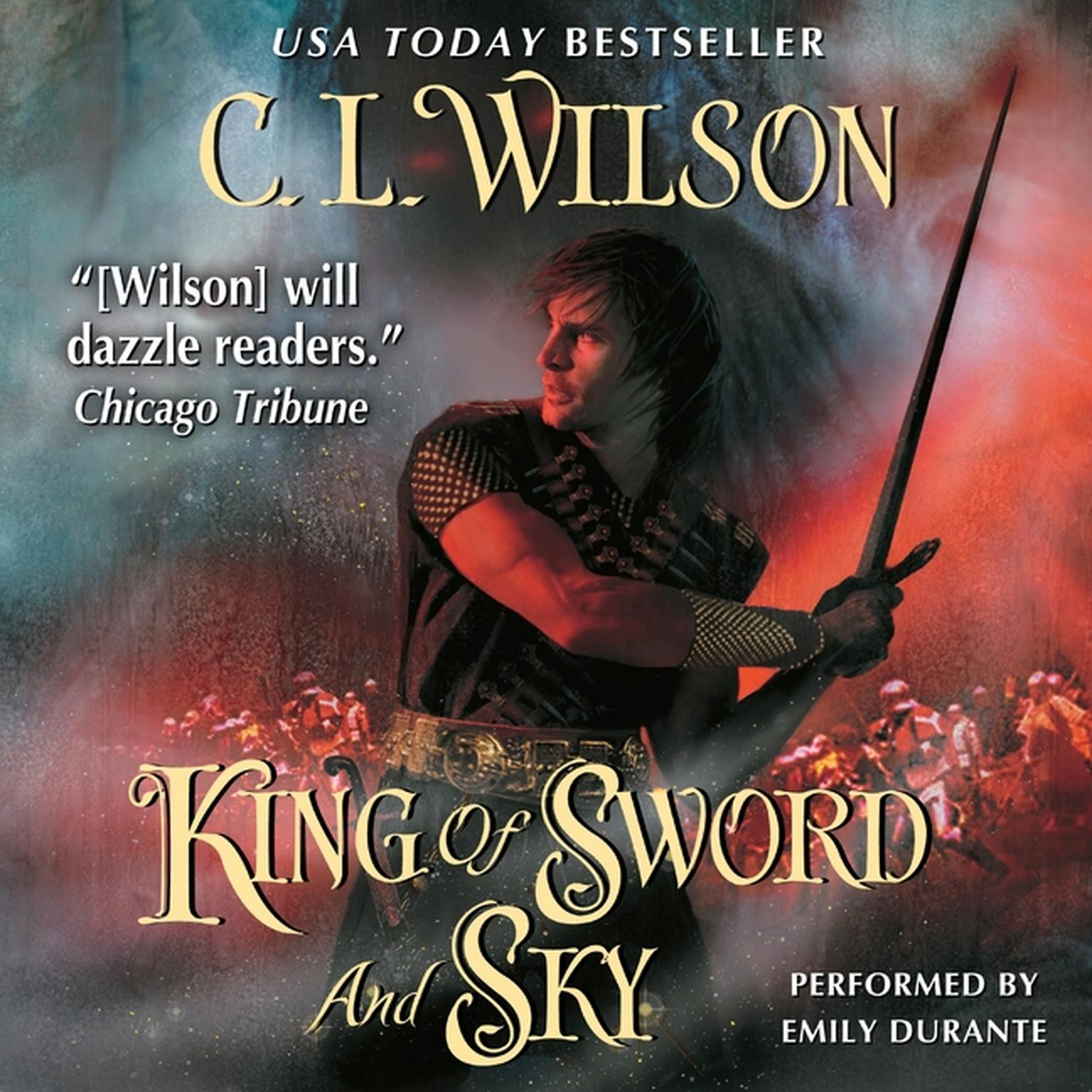 Printable King of Sword and Sky Audiobook Cover Art