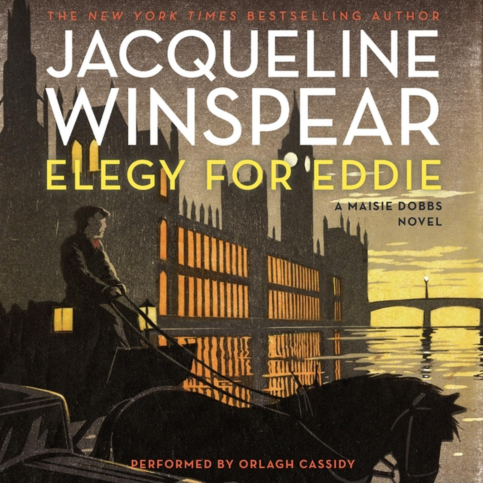 Printable Elegy for Eddie: A Maisie Dobbs Novel Audiobook Cover Art