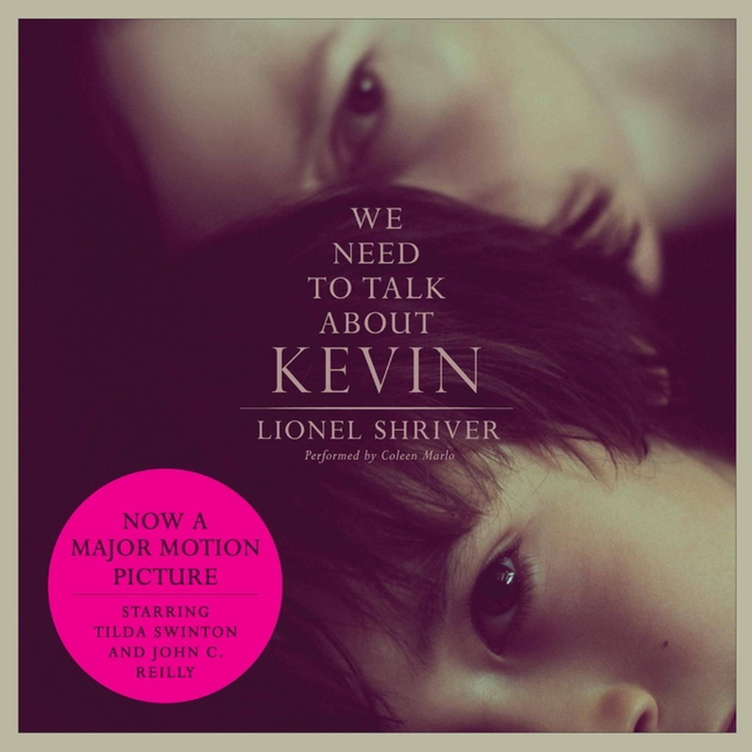 Printable We Need to Talk About Kevin movie tie-in: A Novel Audiobook Cover Art