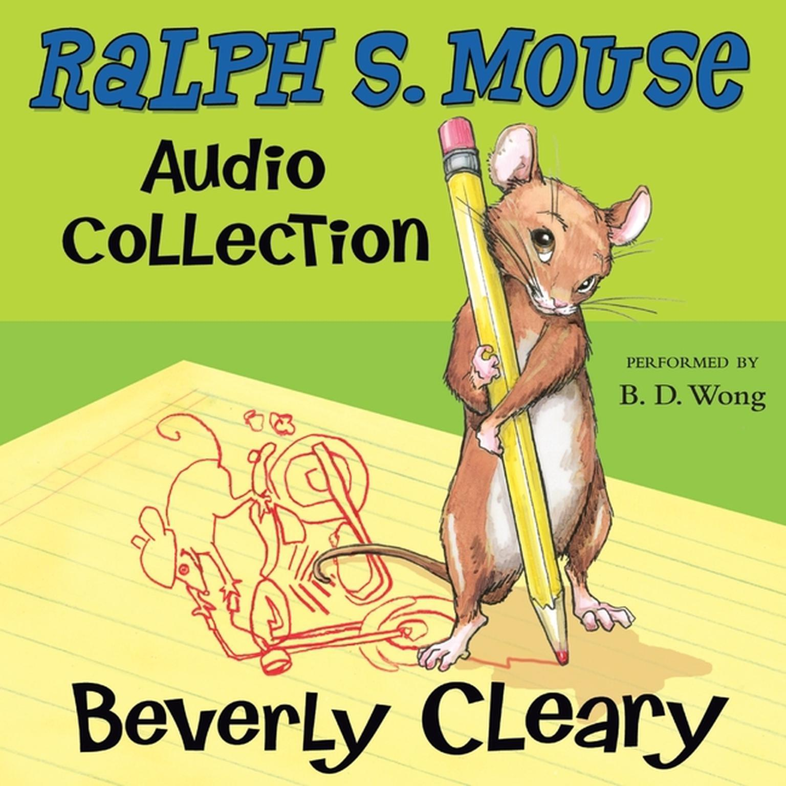 Printable The Ralph S. Mouse Audio Collection Audiobook Cover Art