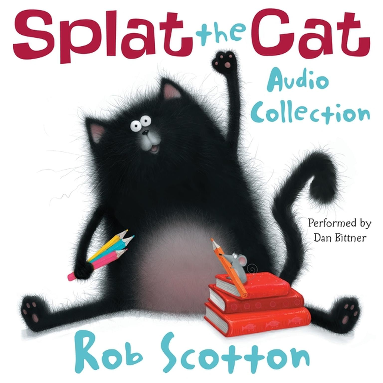 Printable Splat the Cat Audio Collection Audiobook Cover Art