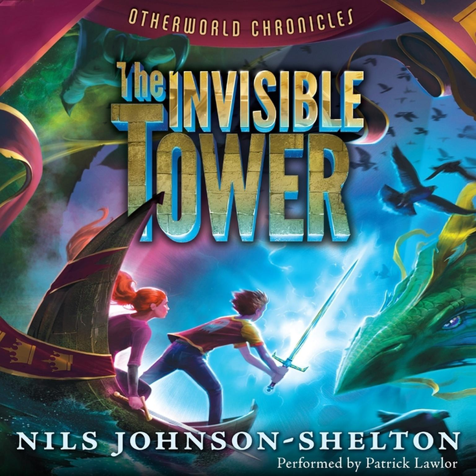 Printable Otherworld Chronicles: The Invisible Tower Audiobook Cover Art