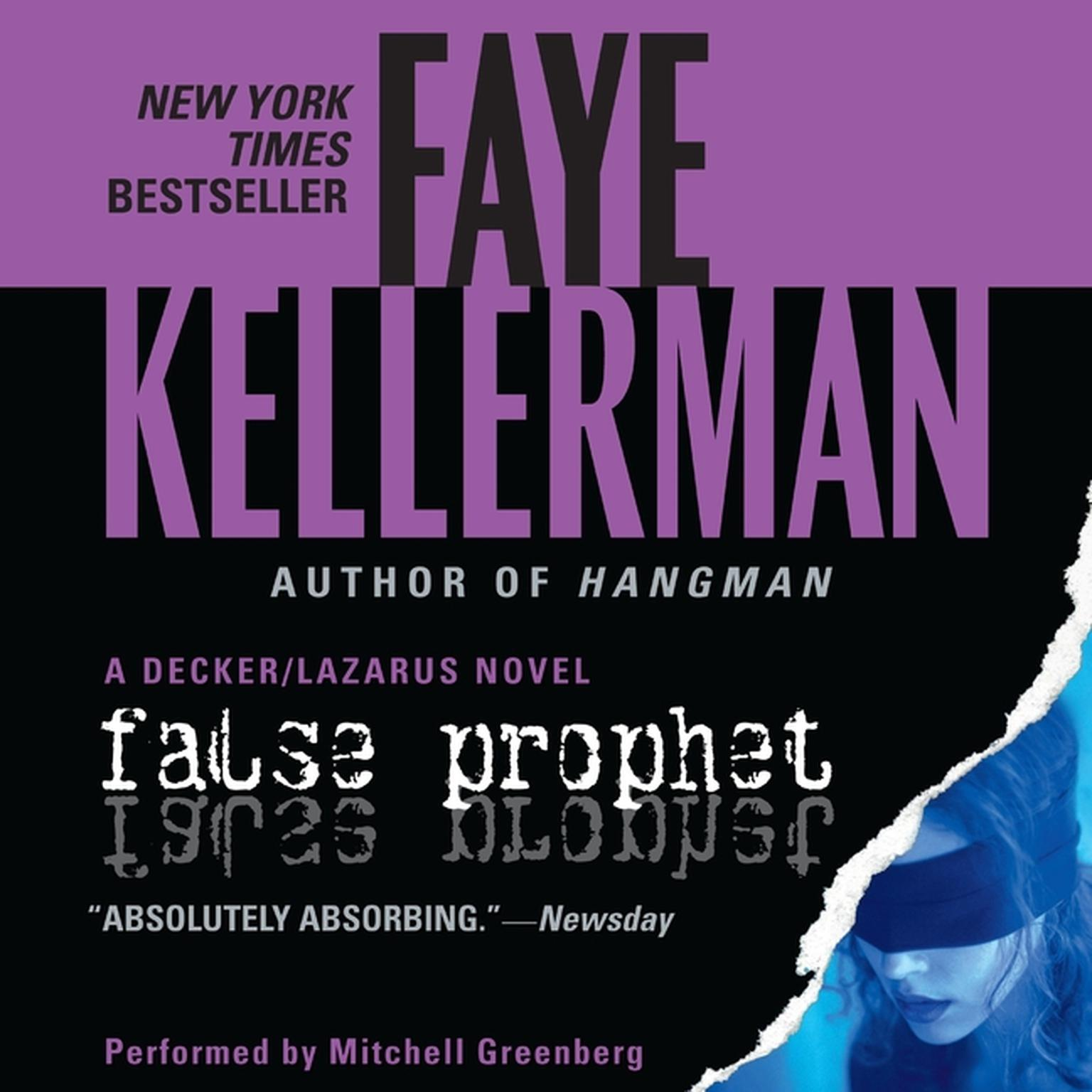 Printable False Prophet Audiobook Cover Art