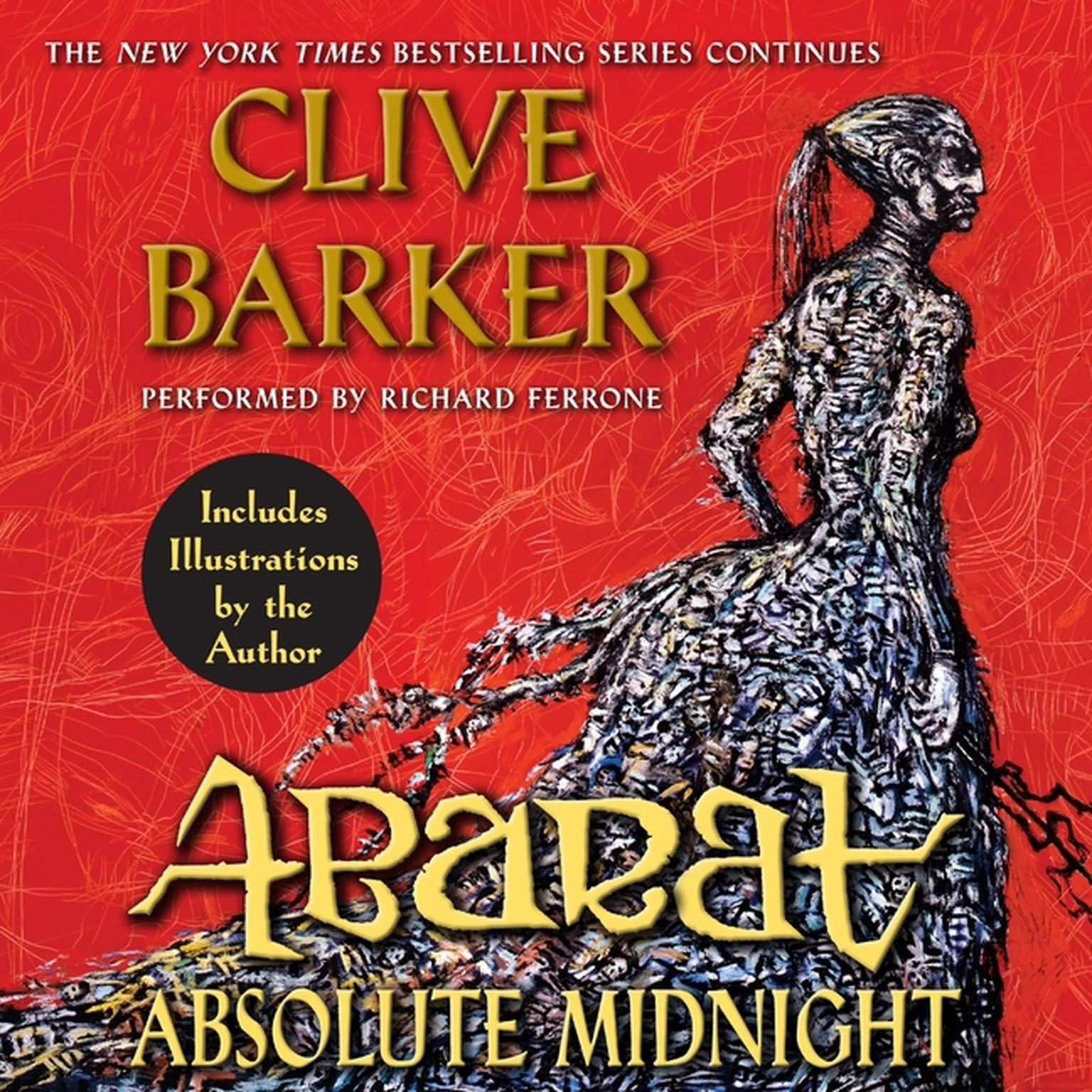 Printable Abarat: Absolute Midnight Audiobook Cover Art