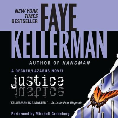 Justice Audiobook, by Faye Kellerman