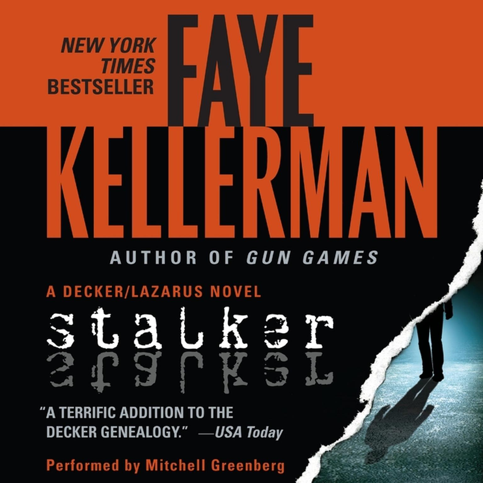 Printable Stalker: A Decker/Lazarus Novel Audiobook Cover Art
